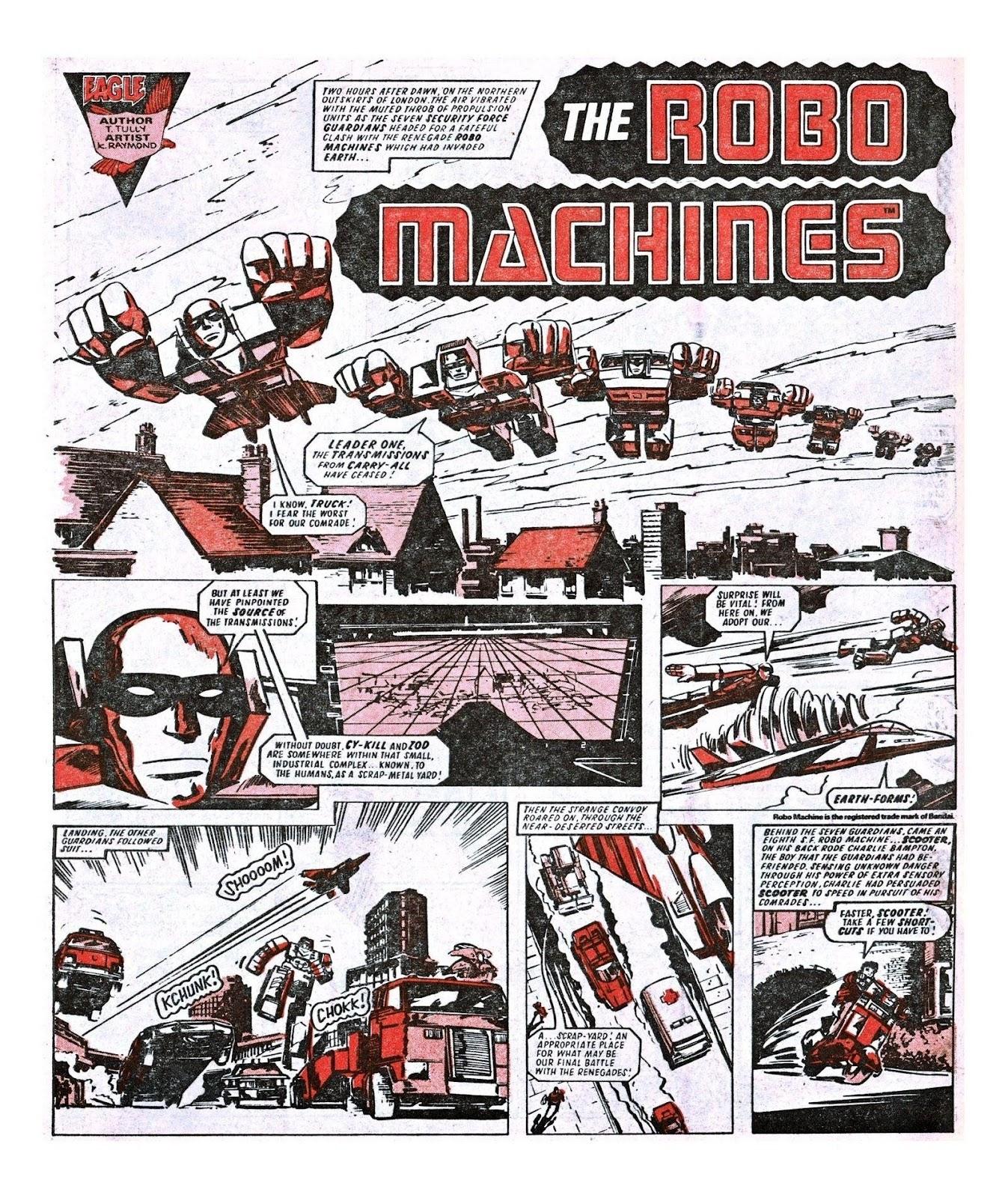 Read online Robo Machines comic -  Issue # TPB - 91