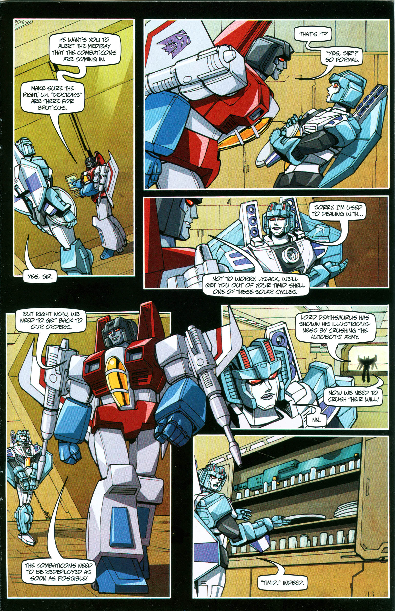 Read online Transformers: Collectors' Club comic -  Issue #37 - 13
