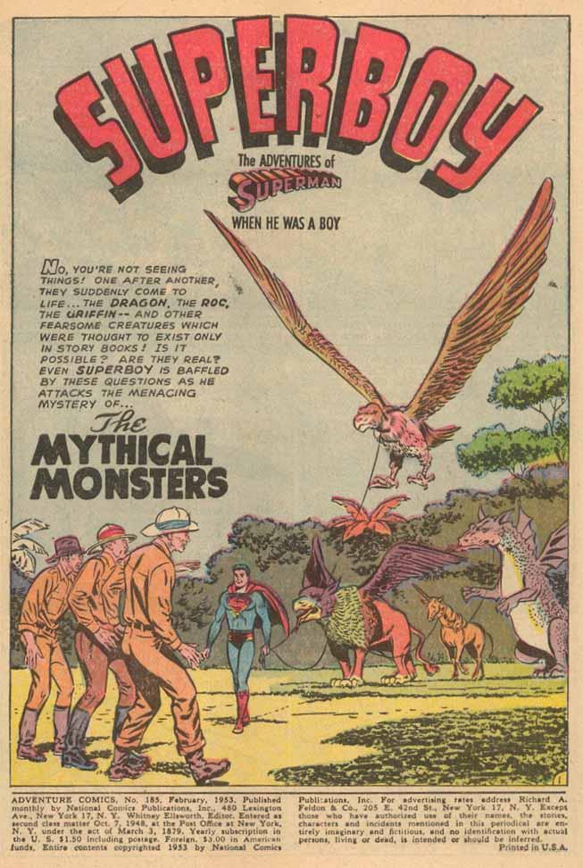 Read online Adventure Comics (1938) comic -  Issue #185 - 3