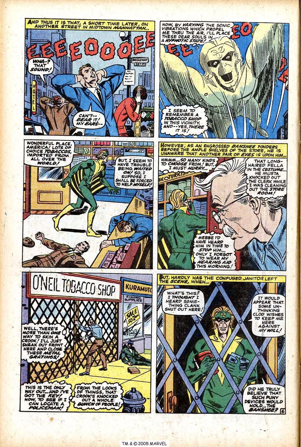 Uncanny X-Men (1963) 76 Page 9