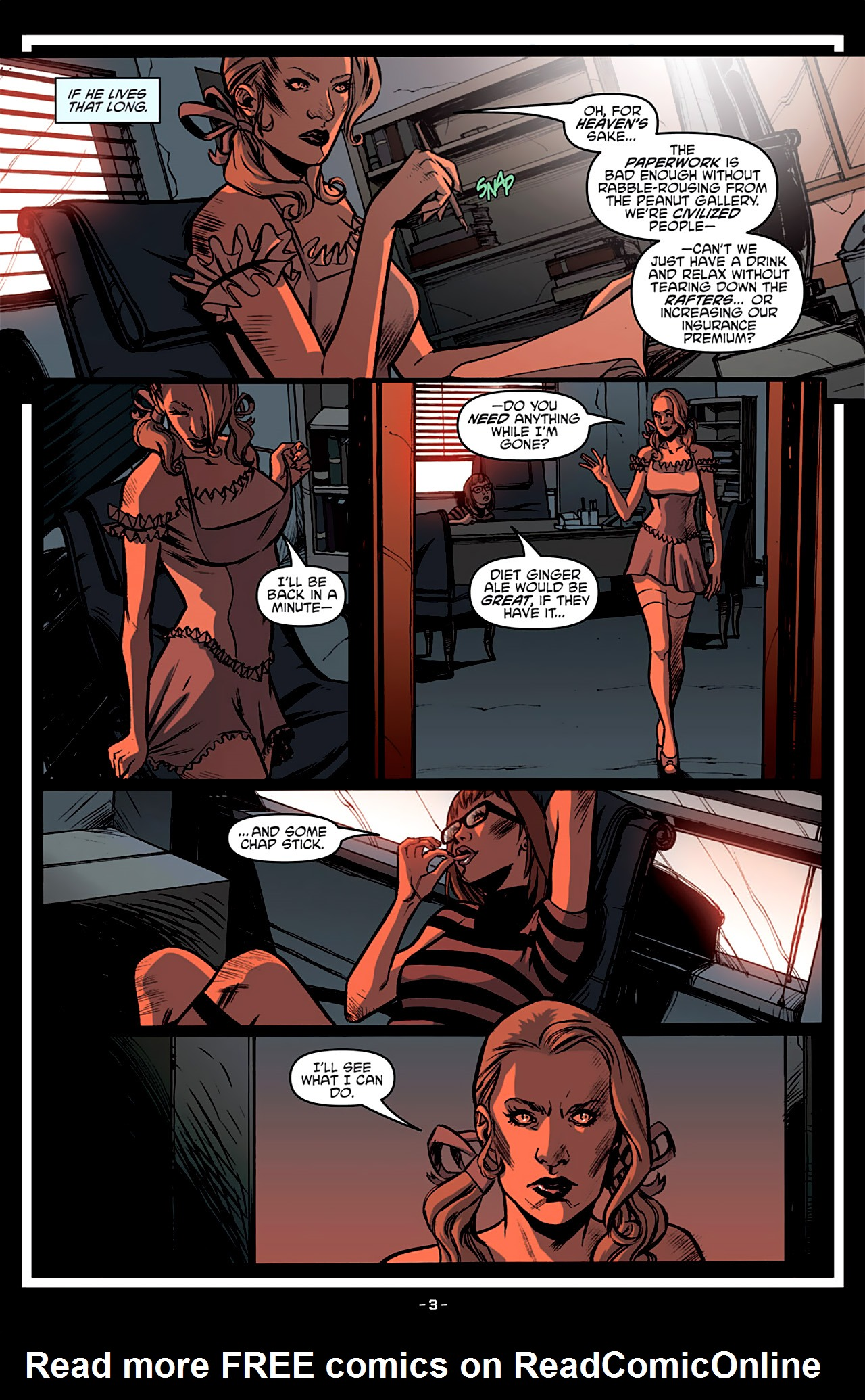 Read online True Blood: French Quarter comic -  Issue #3 - 8