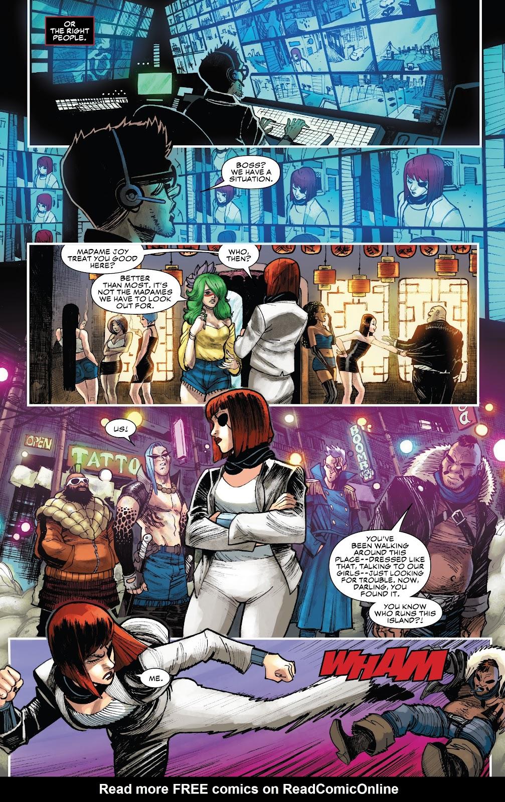 Read online Black Widow (2019) comic -  Issue #1 - 18