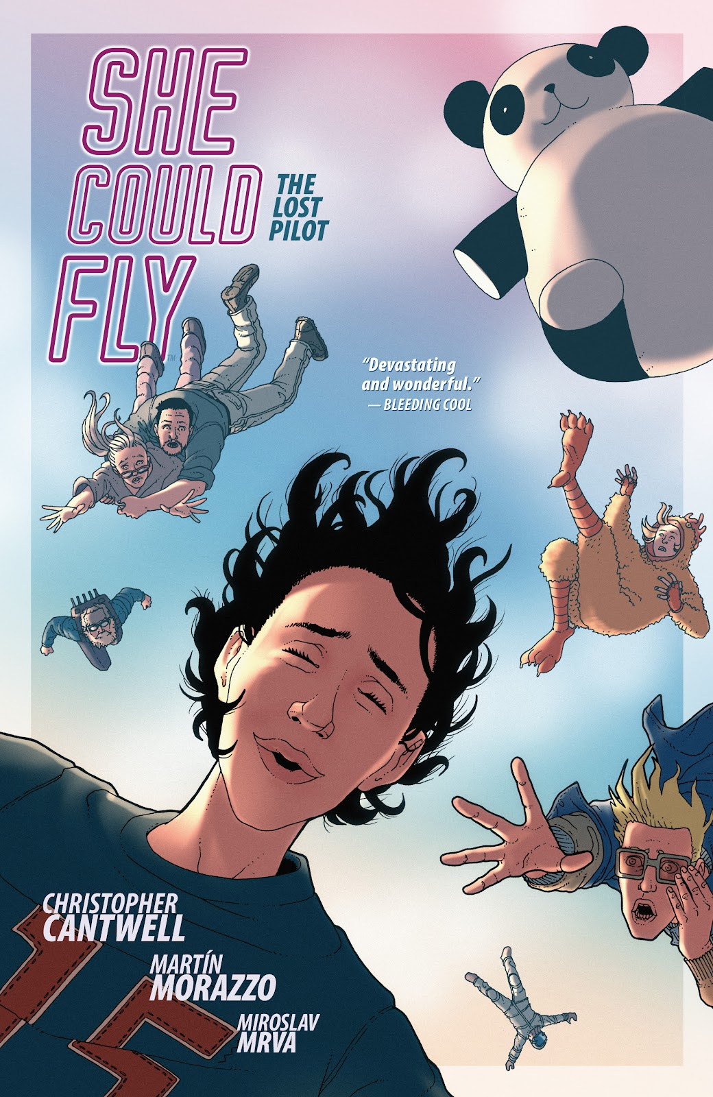 She Could Fly: The Lost Pilot _TPB Page 1