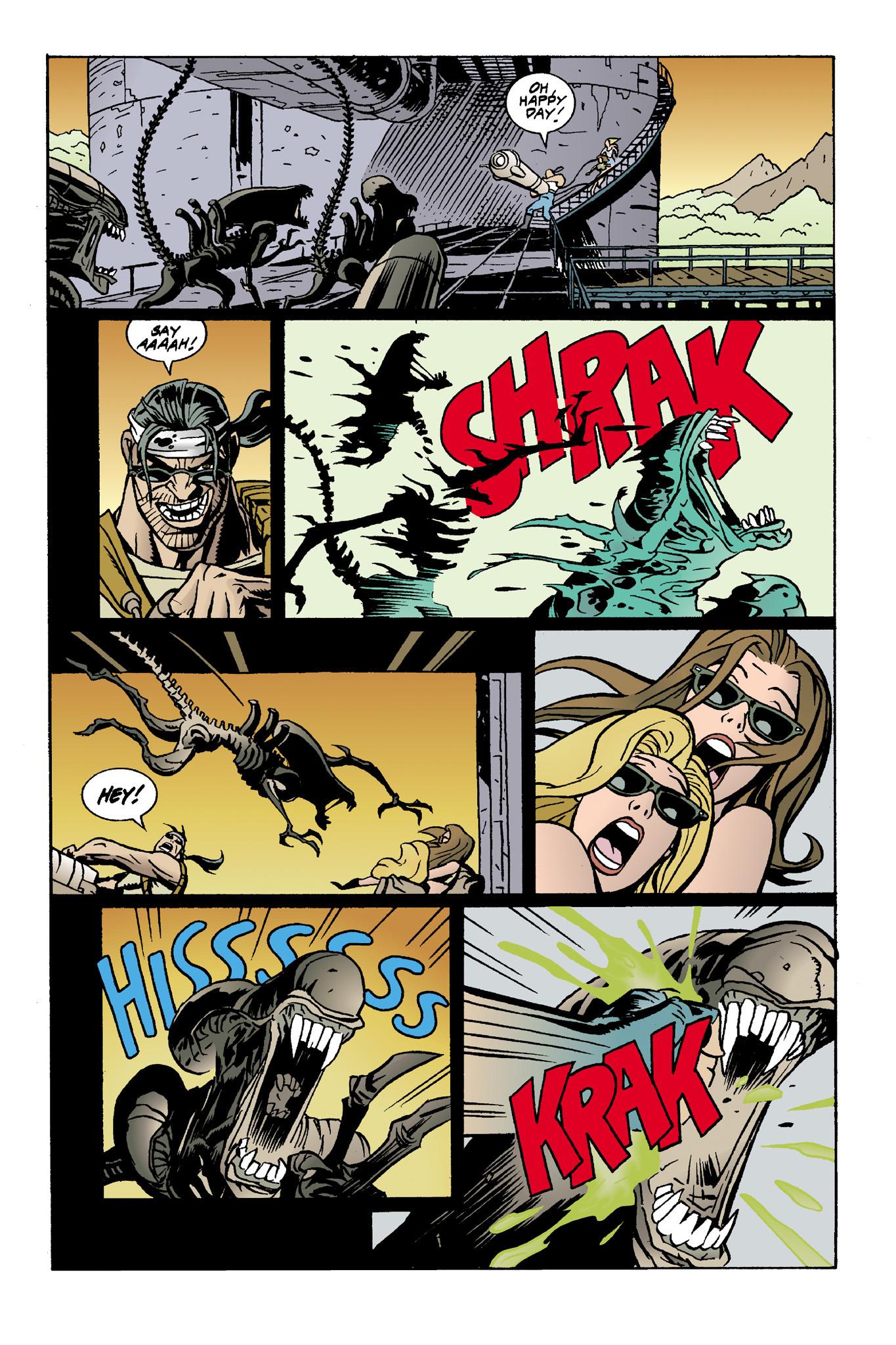 Read online Aliens: Mondo Heat comic -  Issue # Full - 12