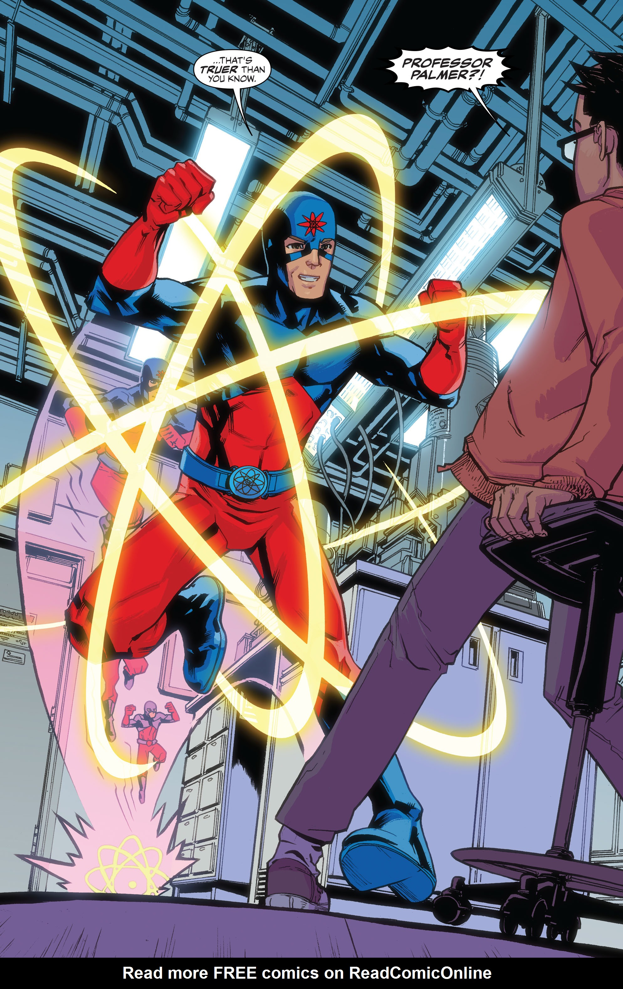 Read online Justice League of America: The Atom Rebirth comic -  Issue # Full - 13