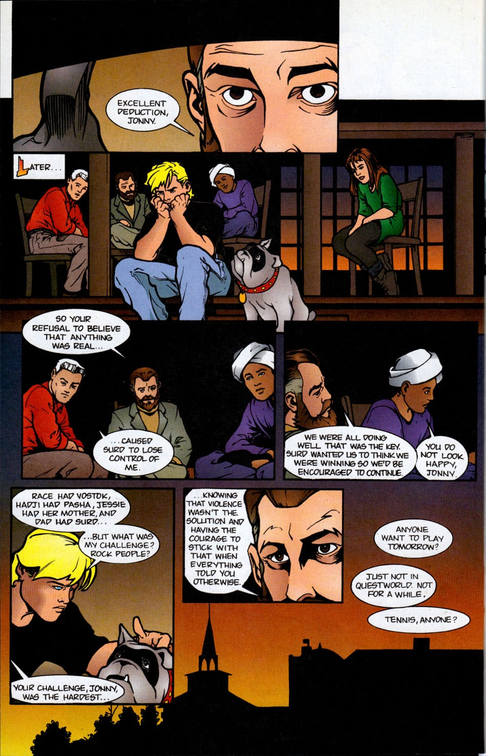 Read online The Real Adventures of Jonny Quest comic -  Issue #5 - 22