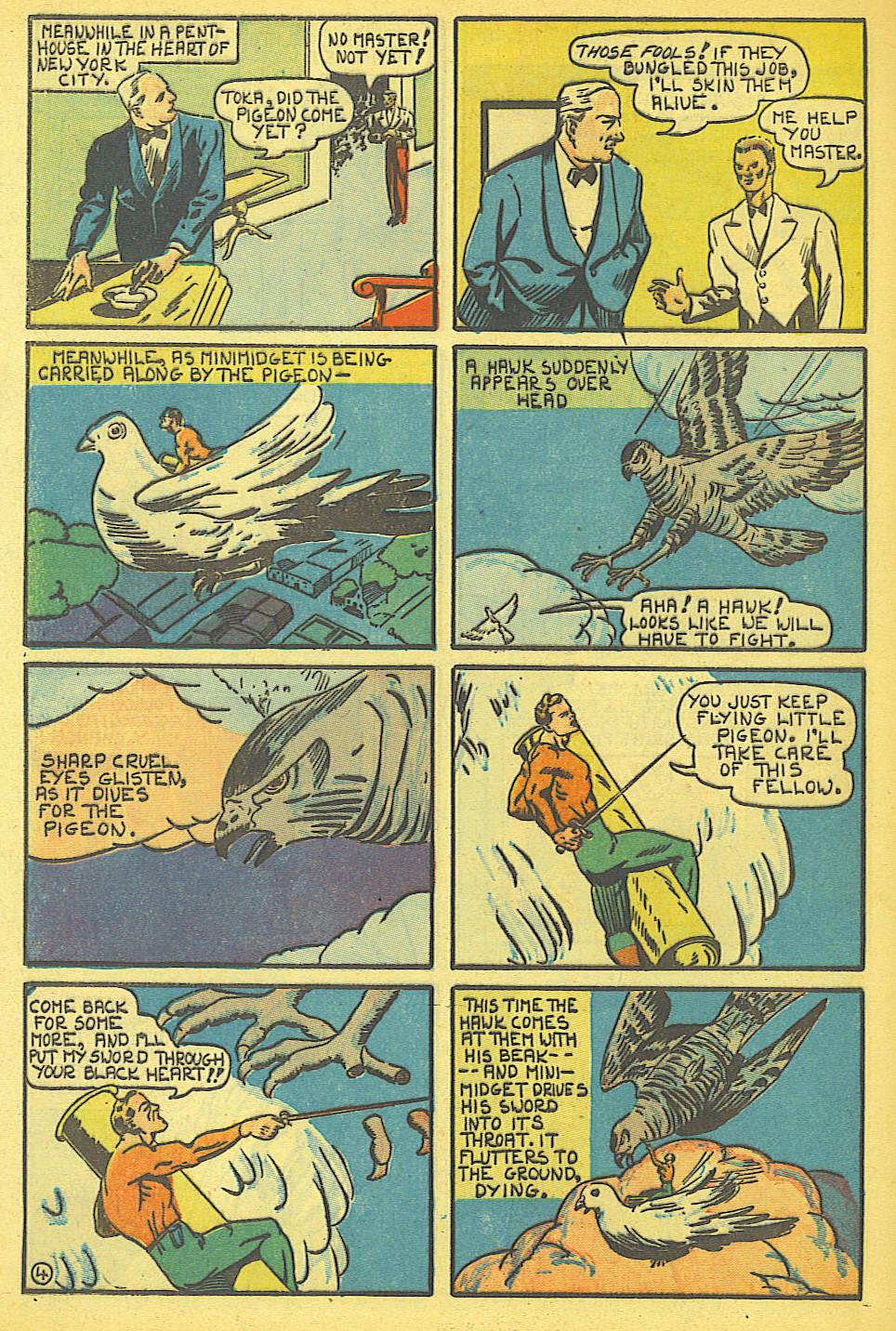 Read online Amazing Man Comics comic -  Issue #19 - 62