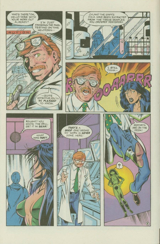 Read online Ex-Mutants comic -  Issue #7 - 9