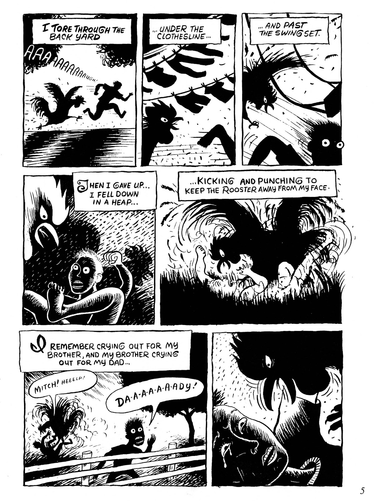 Drawn & Quarterly (1990) issue 8 - Page 7