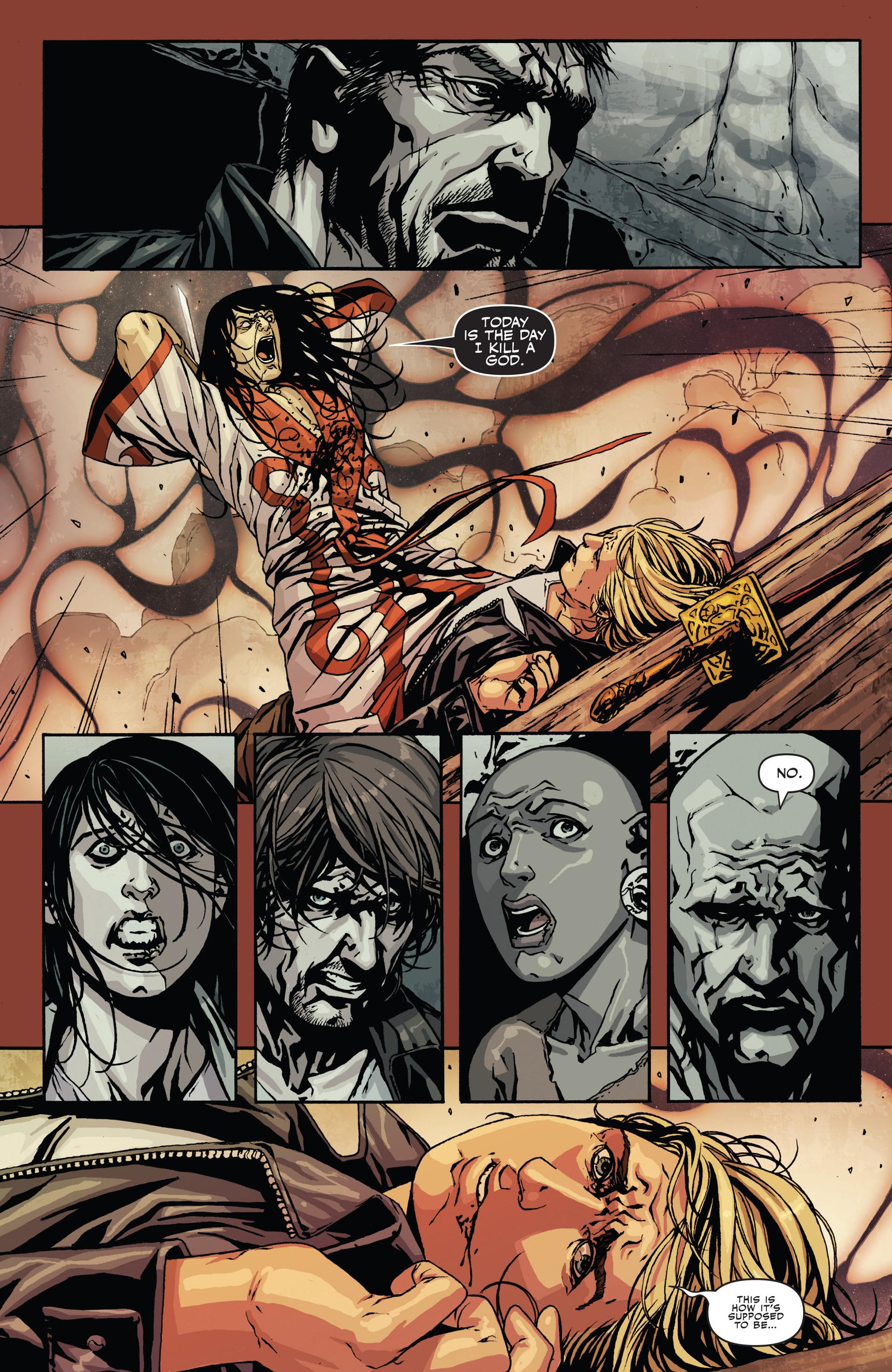 Read online Secret Warriors comic -  Issue #21 - 23