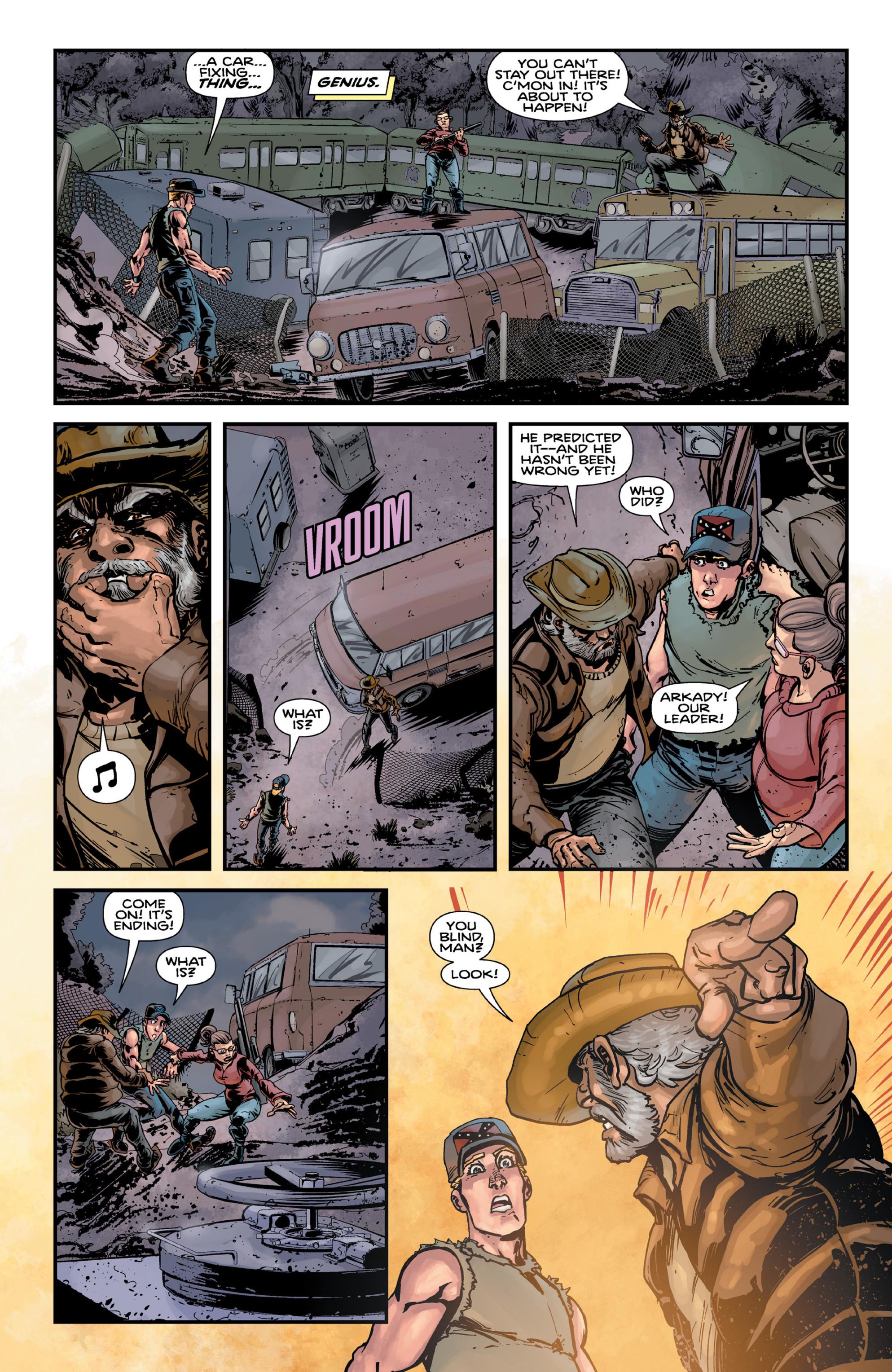 Read online Brain Boy:  The Men from G.E.S.T.A.L.T. comic -  Issue # TPB - 52