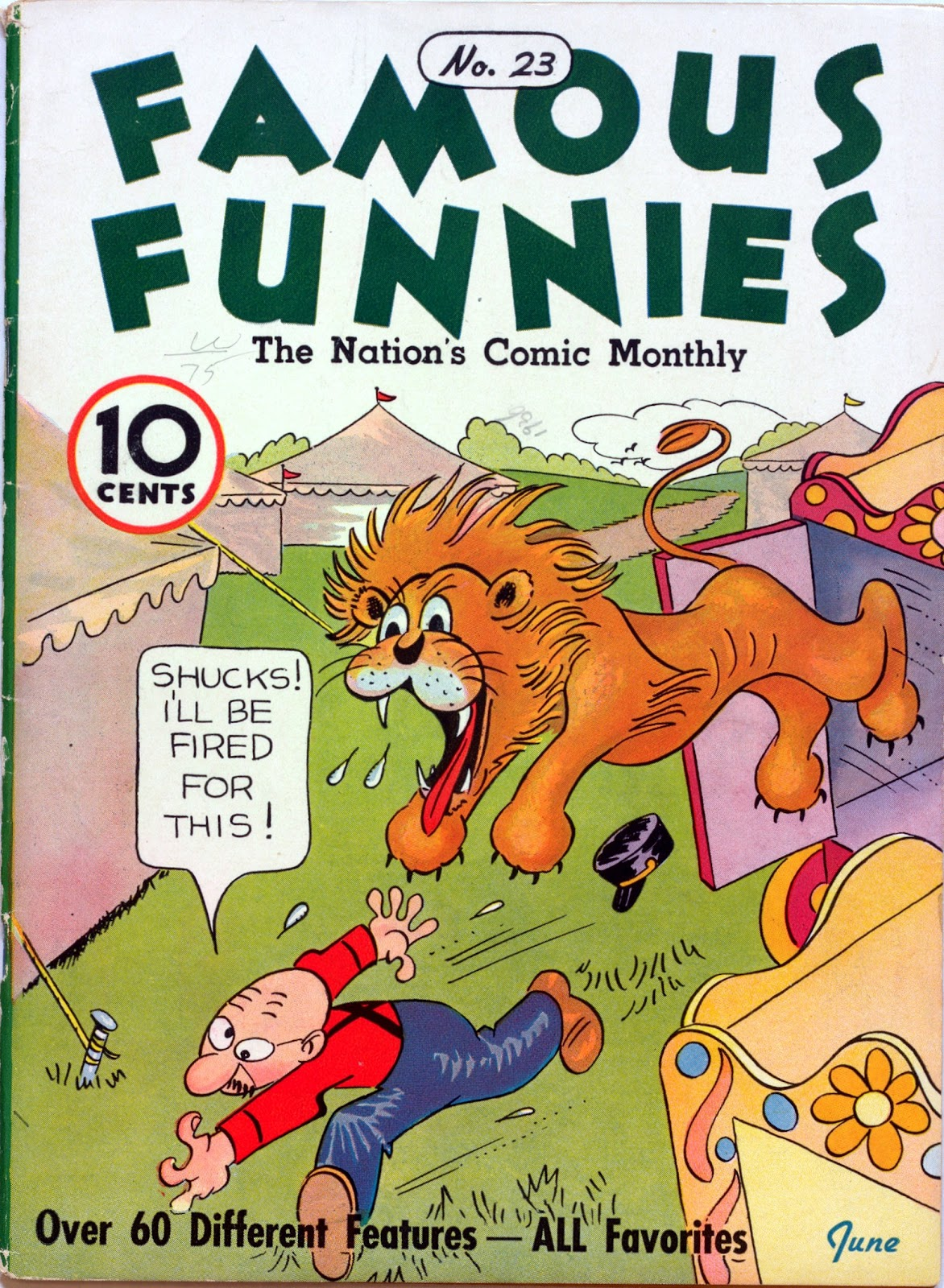 Read online Famous Funnies comic -  Issue #23 - 1