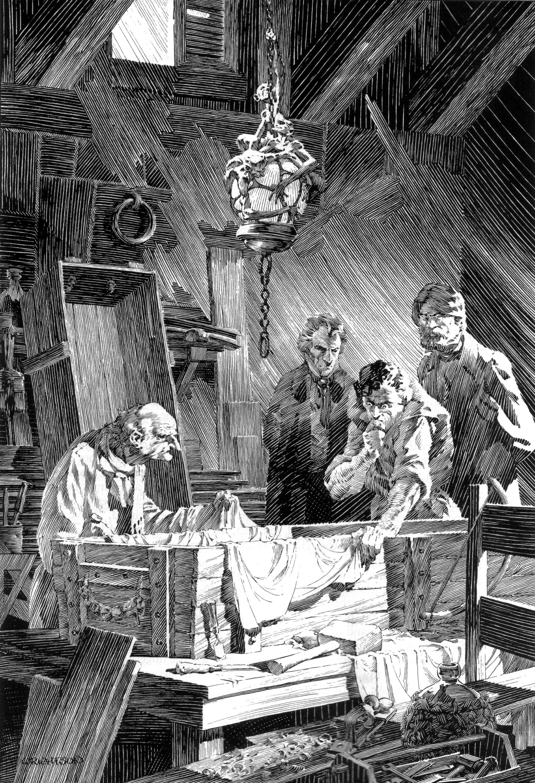 Read online Bernie Wrightson's Frankenstein comic -  Issue # Full - 37