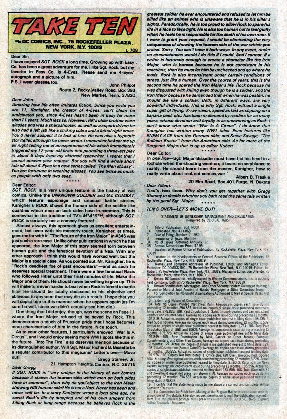 Read online Sgt. Rock comic -  Issue #352 - 16