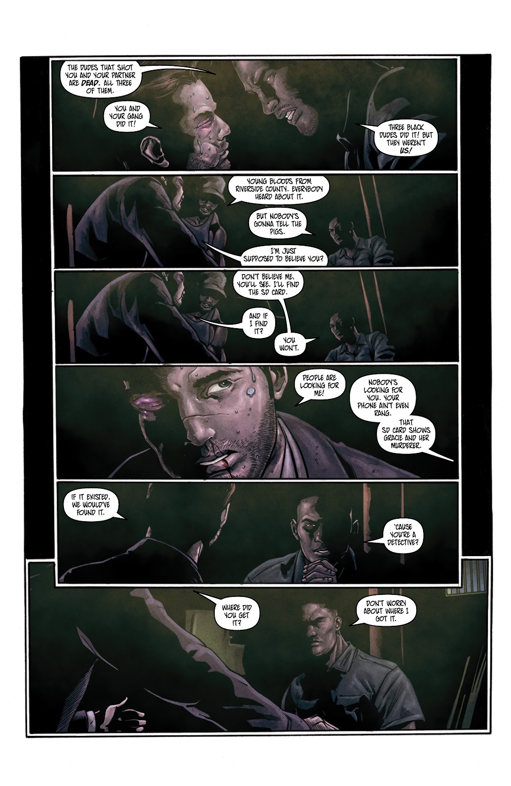 Read online Vindication comic -  Issue #3 - 8