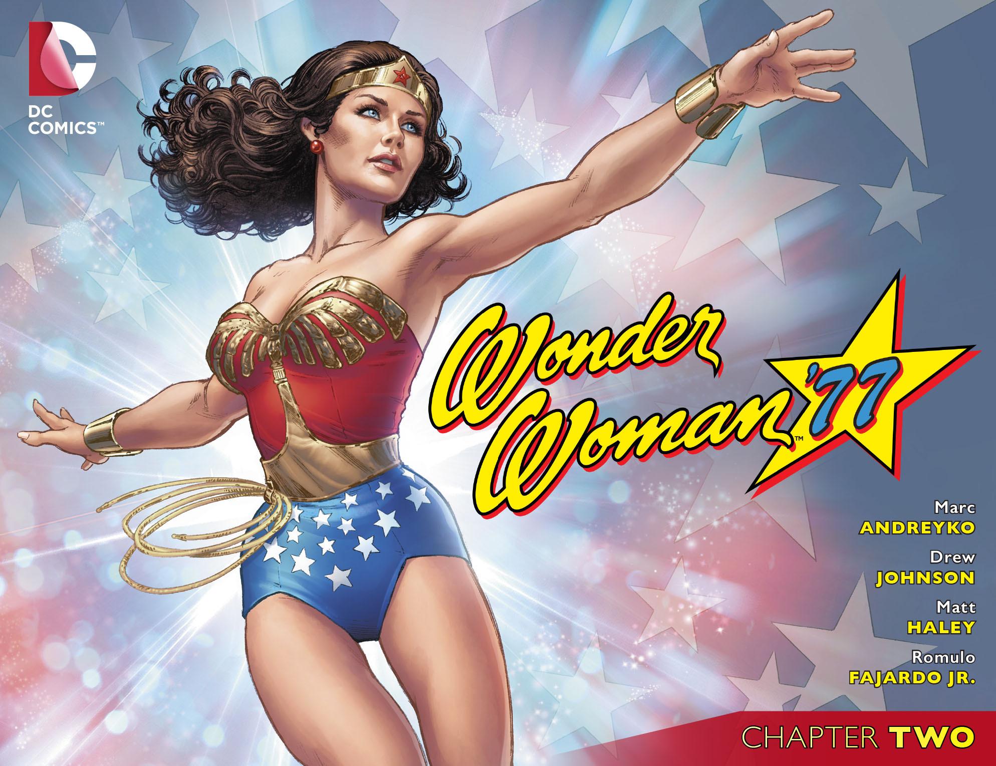 Read online Wonder Woman '77 [I] comic -  Issue #2 - 1