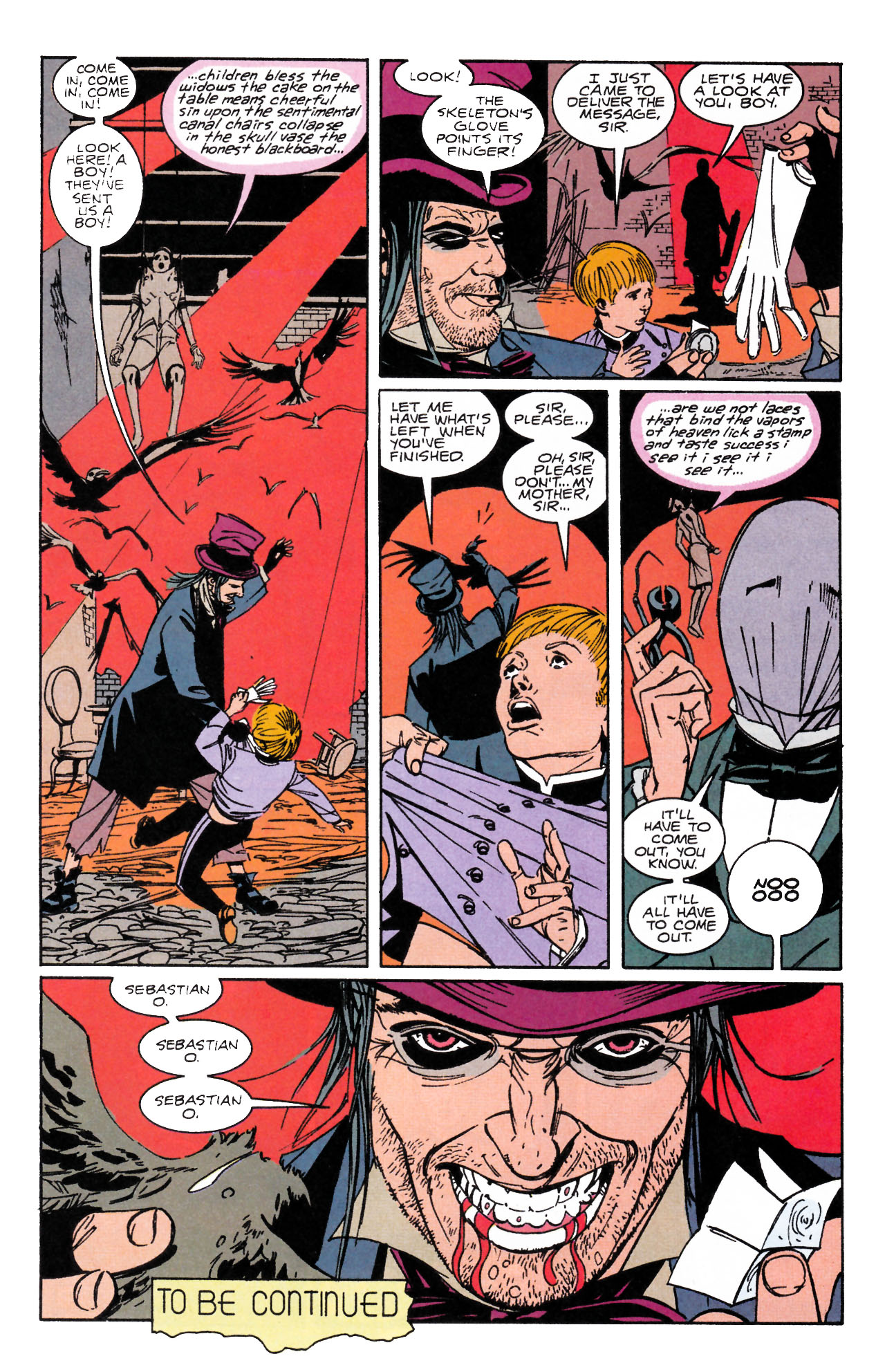 Read online Sebastian O comic -  Issue #1 - 30
