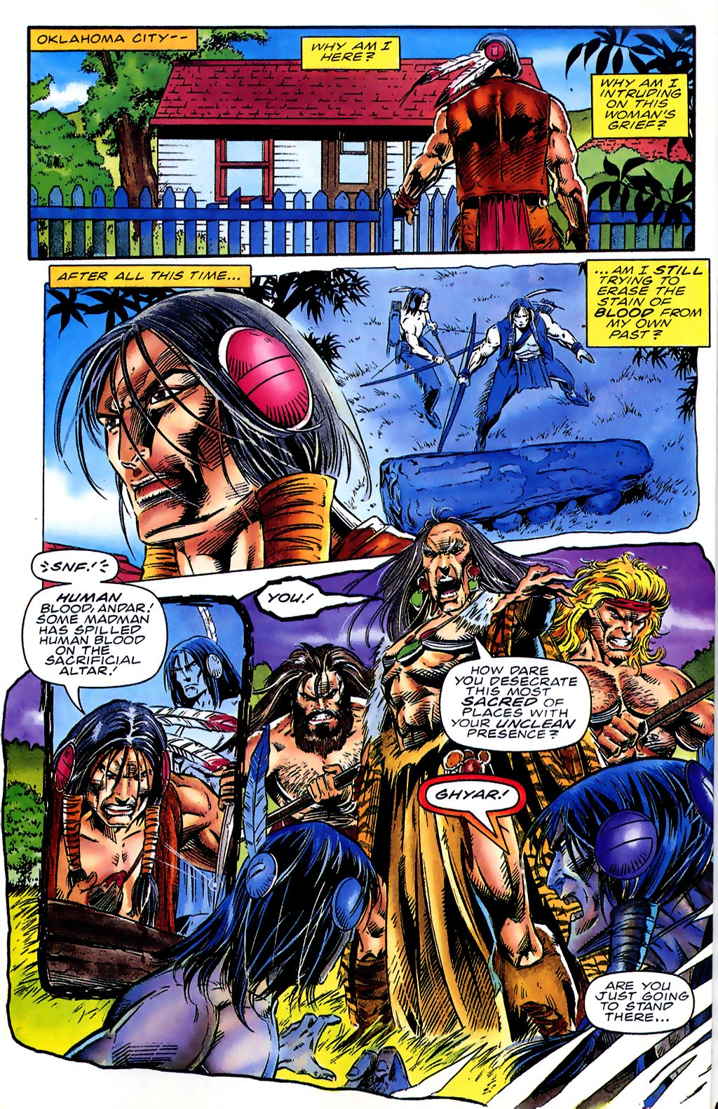 Read online Turok, Dinosaur Hunter (1993) comic -  Issue #41 - 6
