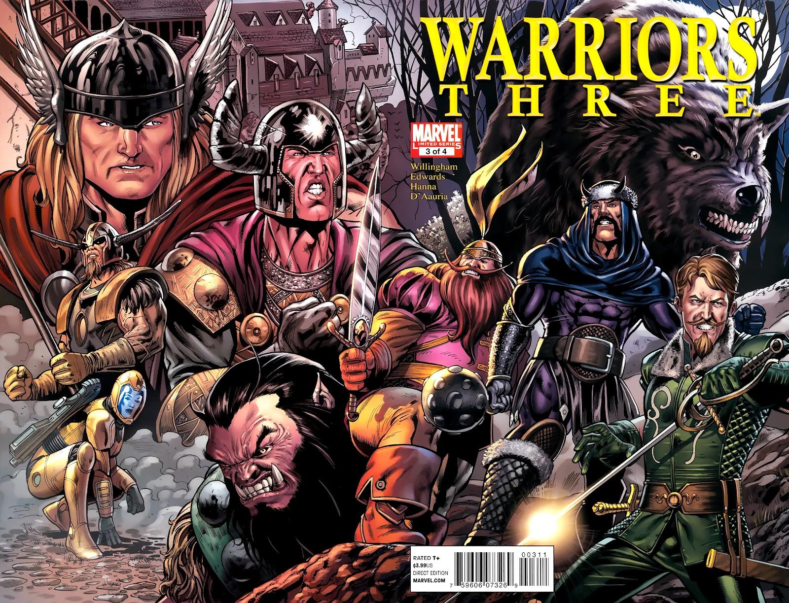Warriors Three Issue #3 #3 - English 1