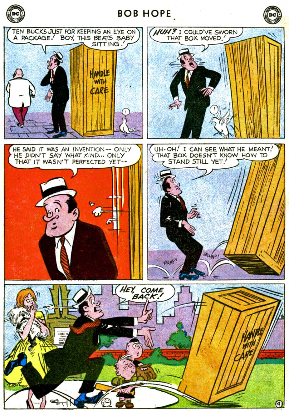 The Adventures of Bob Hope issue 68 - Page 6