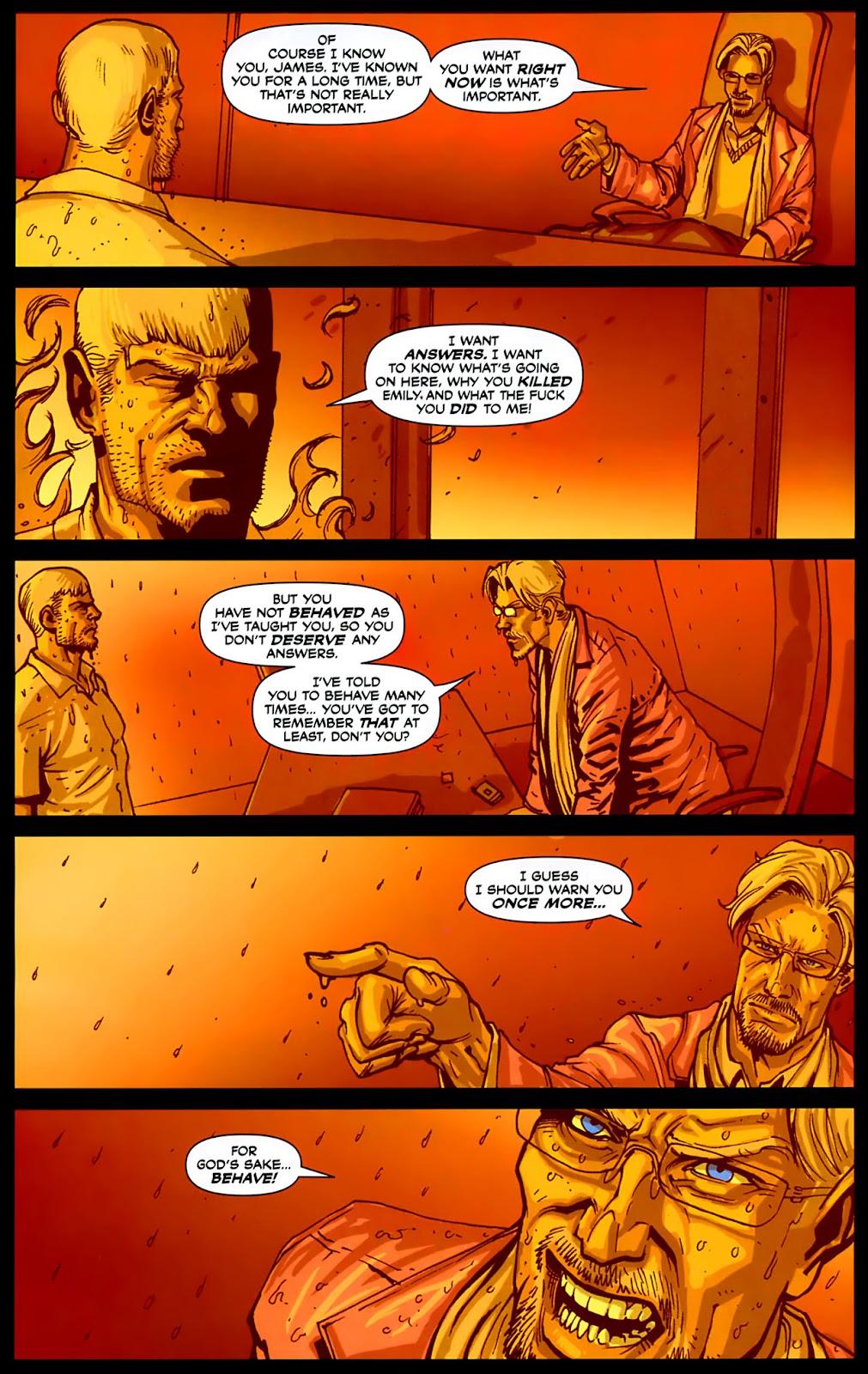 Read online Lazarus (2007) comic -  Issue #3 - 16