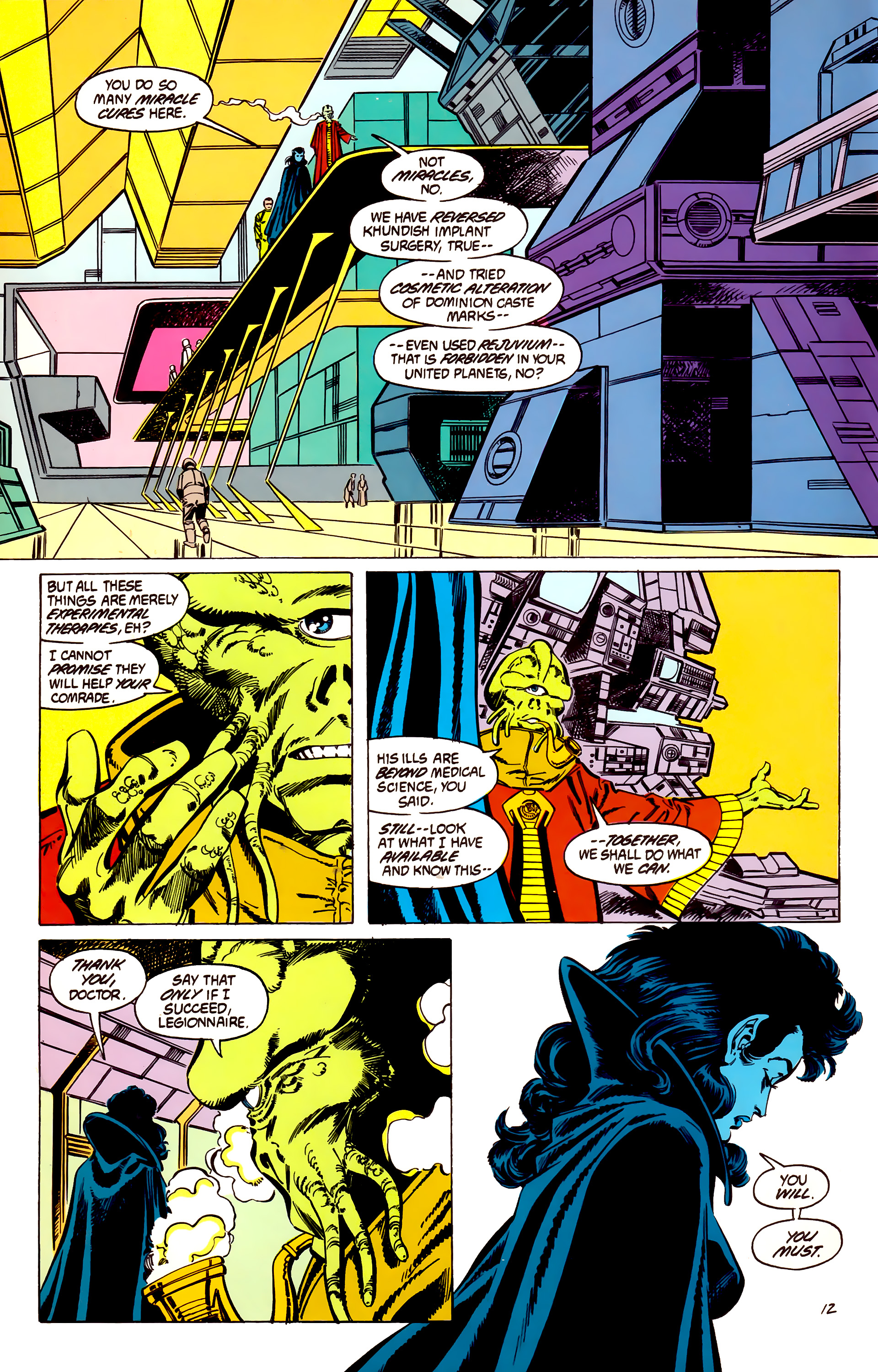 Legion of Super-Heroes (1984) 56 Page 12