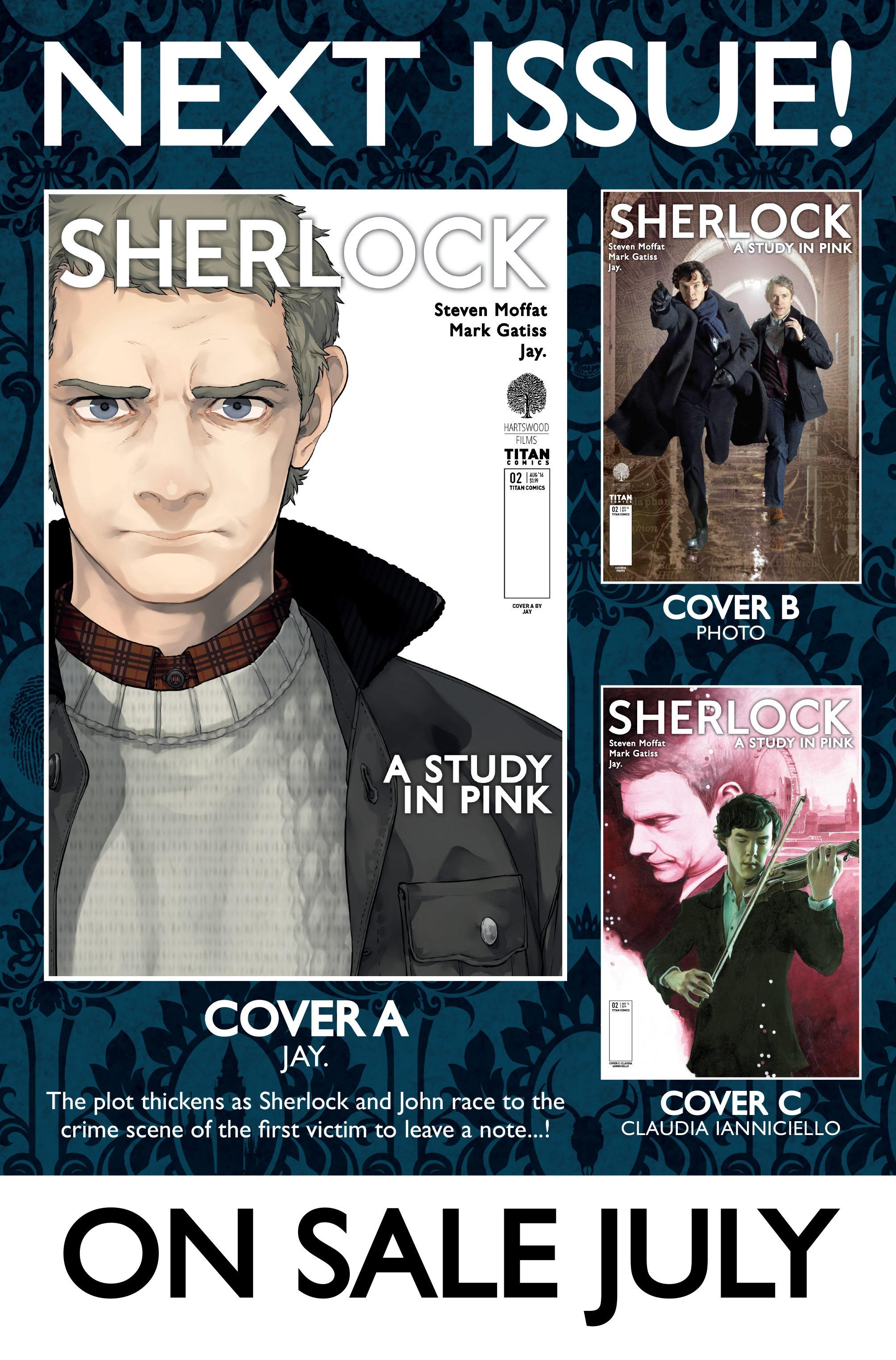 Read online Sherlock: A Study In Pink comic -  Issue #1 - 48