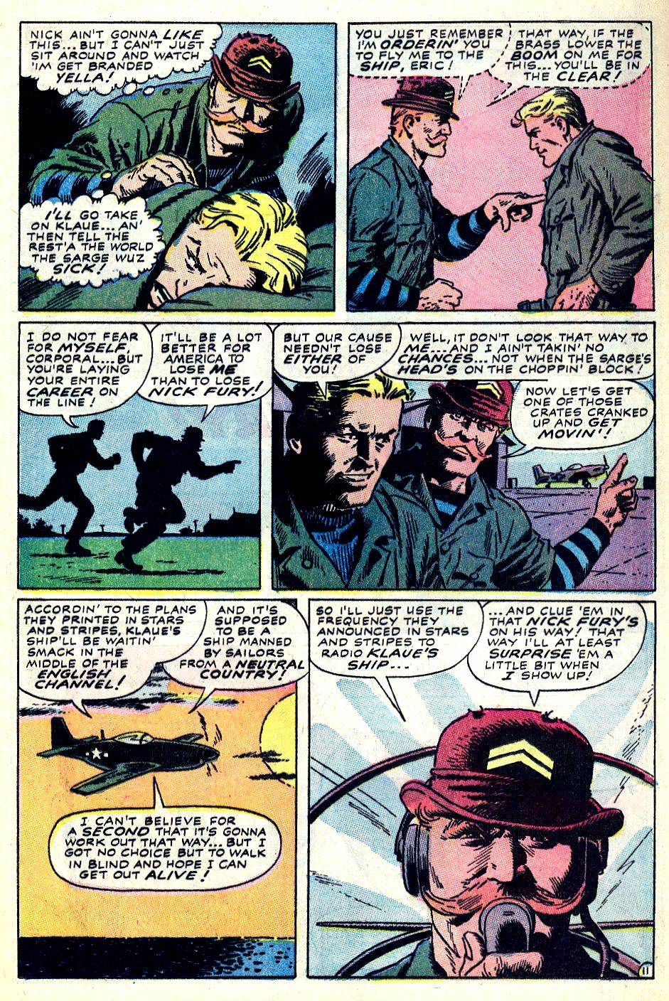 Read online Sgt. Fury comic -  Issue #59 - 17
