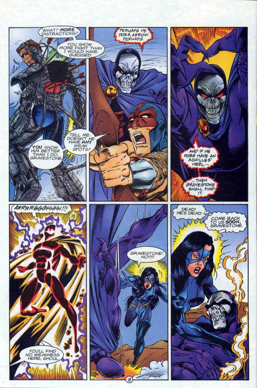 Read online Ex-Mutants comic -  Issue #18 - 18