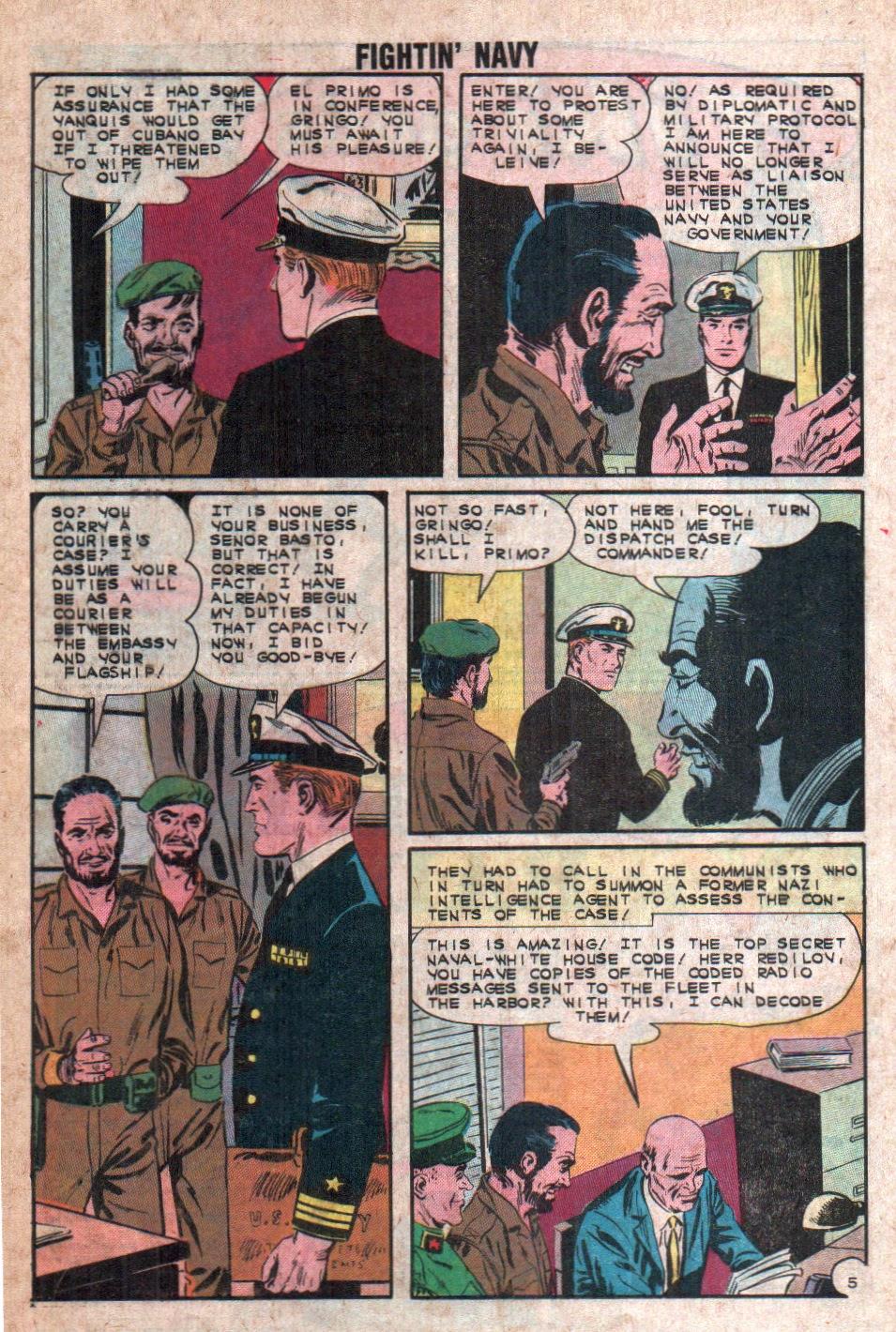 Read online Fightin' Navy comic -  Issue #108 - 16