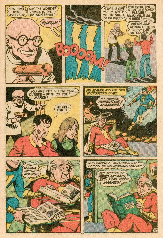 Read online Shazam! (1973) comic -  Issue #14 - 20
