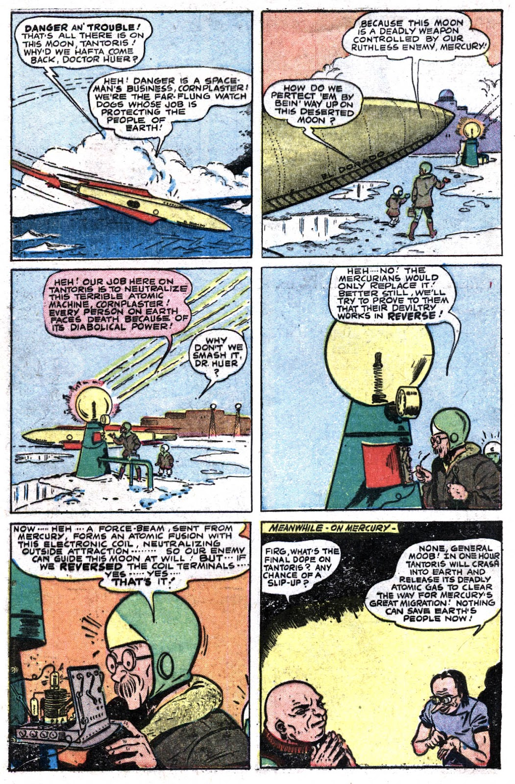 Read online Famous Funnies comic -  Issue #176 - 4