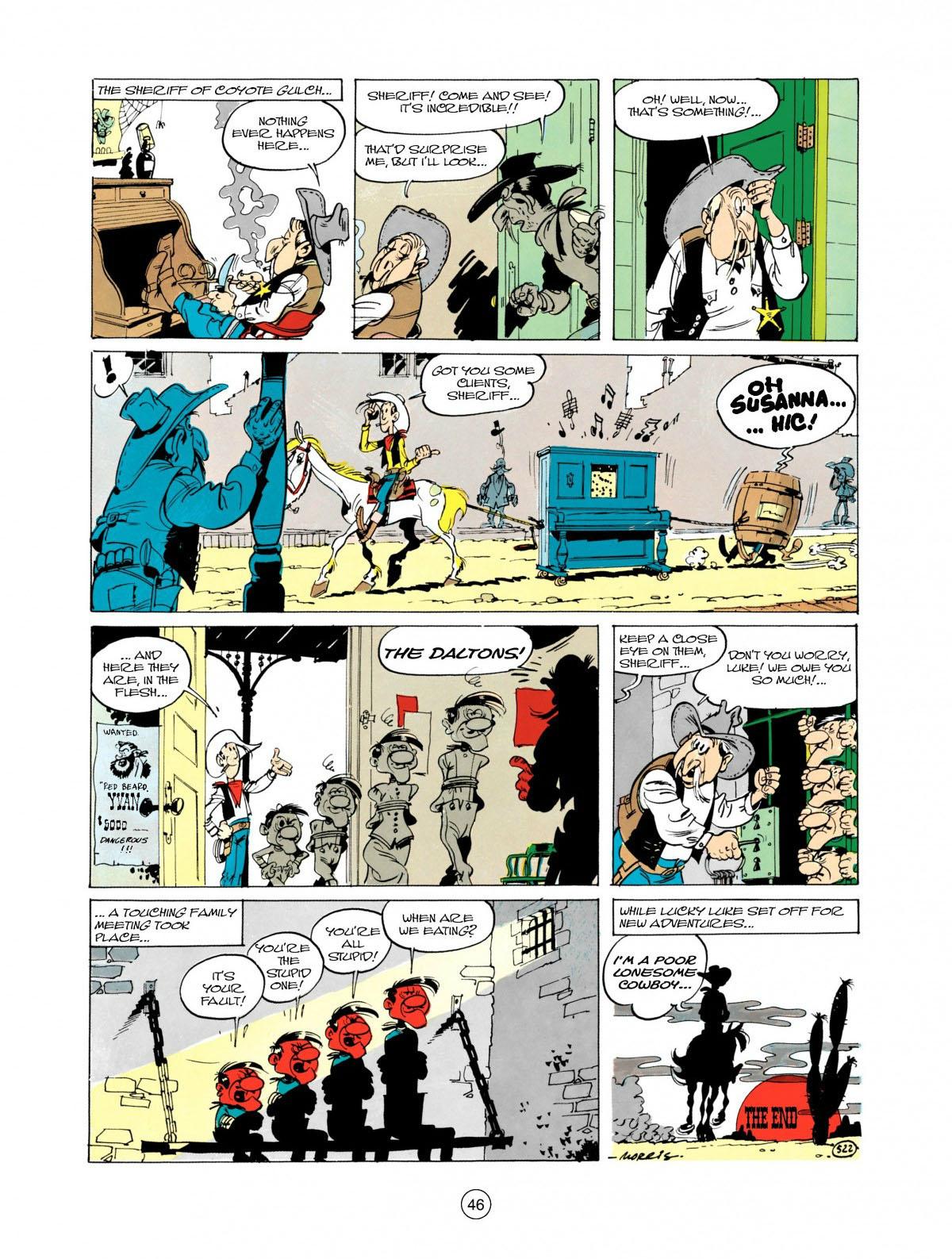 Read online A Lucky Luke Adventure comic -  Issue #28 - 47