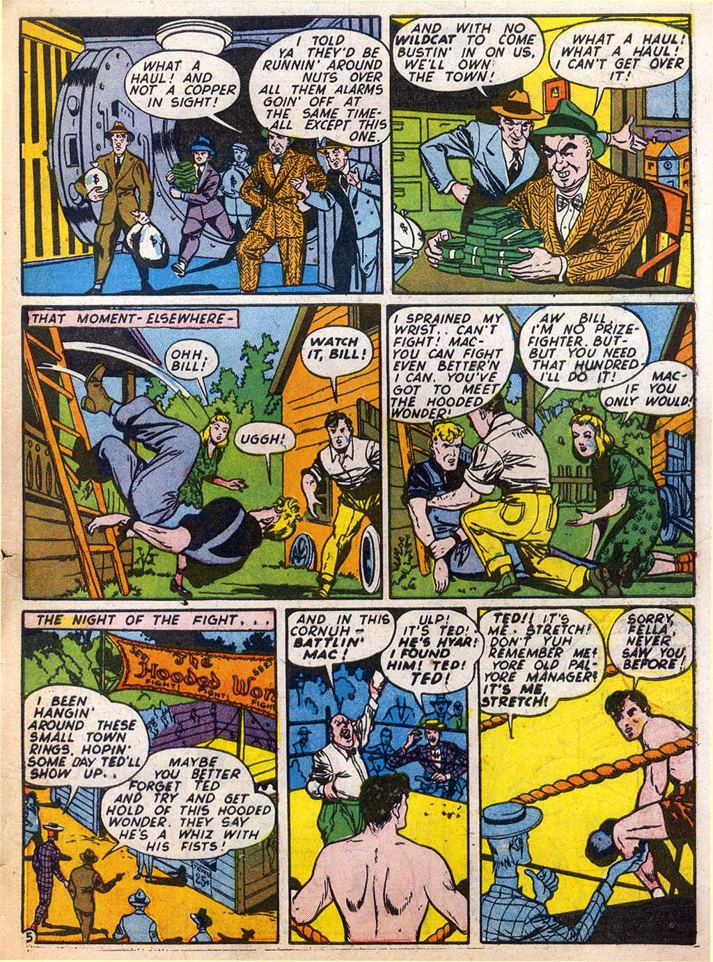 Read online Sensation (Mystery) Comics comic -  Issue #27 - 53