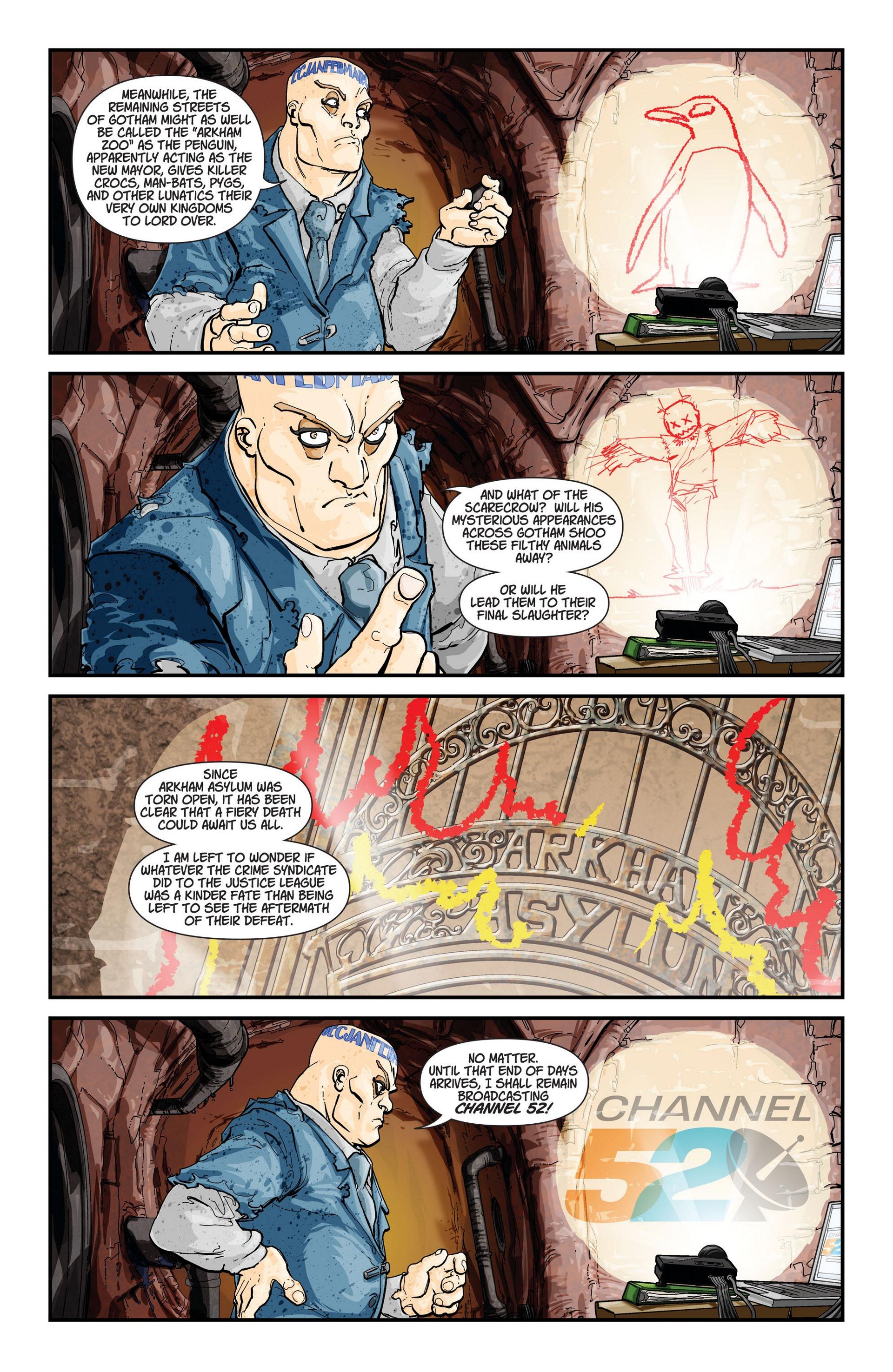 Read online Trinity of Sin: The Phantom Stranger comic -  Issue #13 - 22