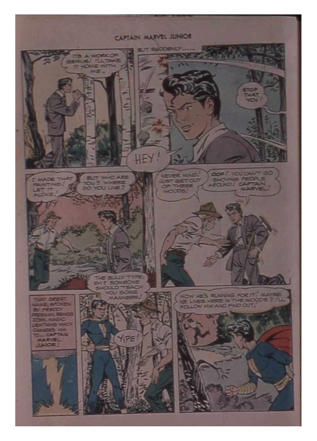 Captain Marvel, Jr. issue 59 - Page 42