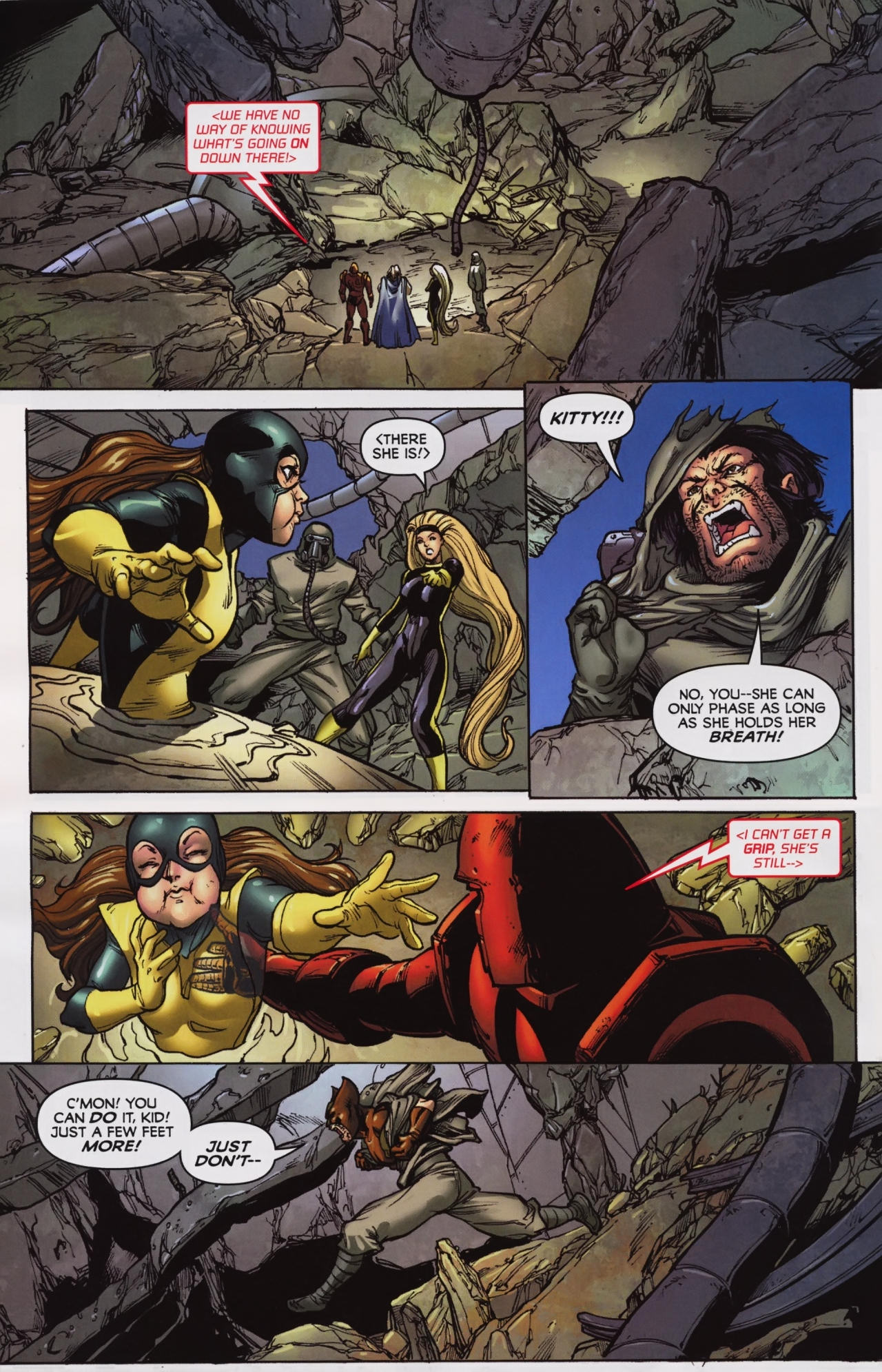 Read online Wolverine: First Class comic -  Issue #7 - 21