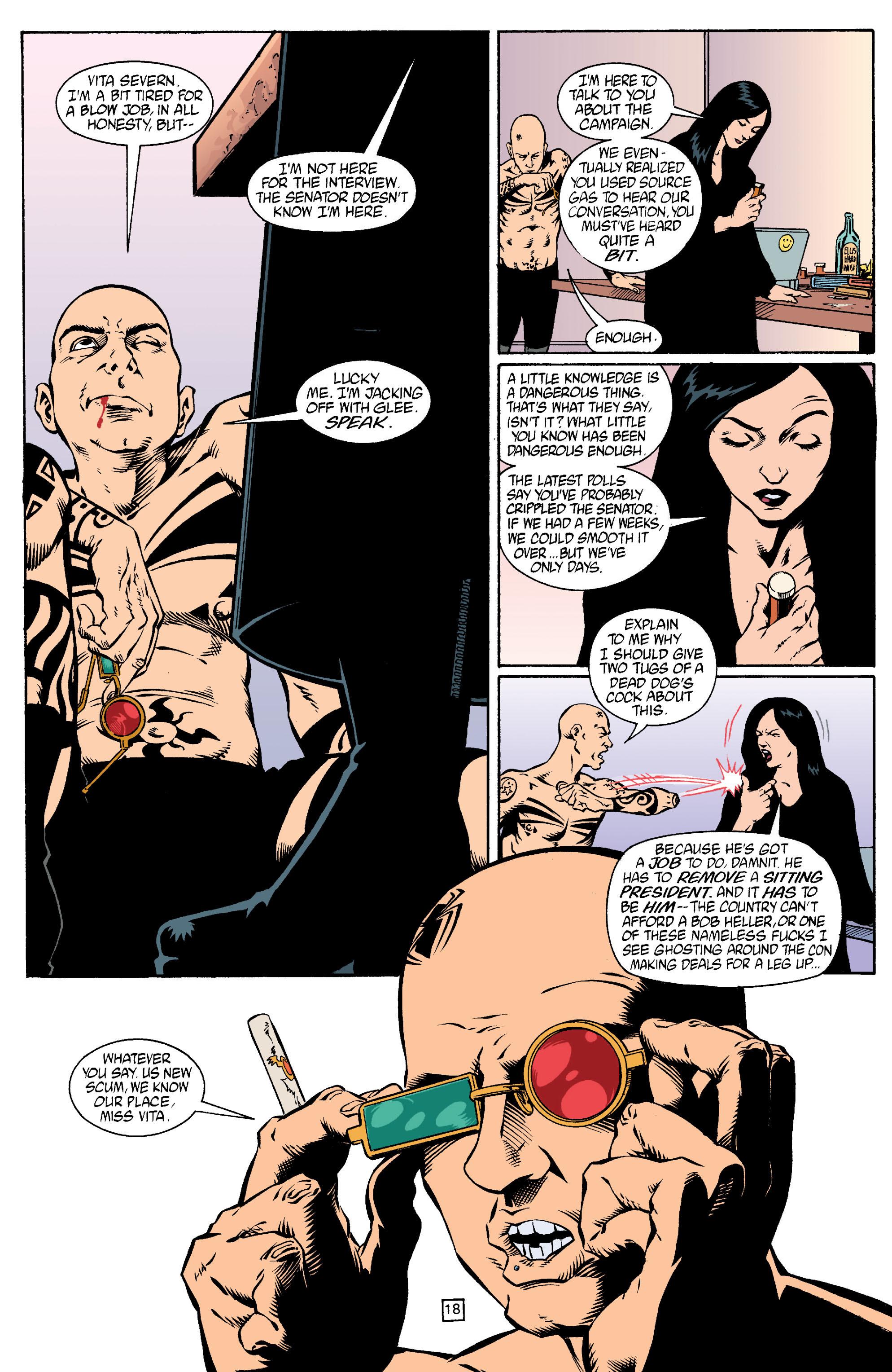 Read online Transmetropolitan comic -  Issue #15 - 19
