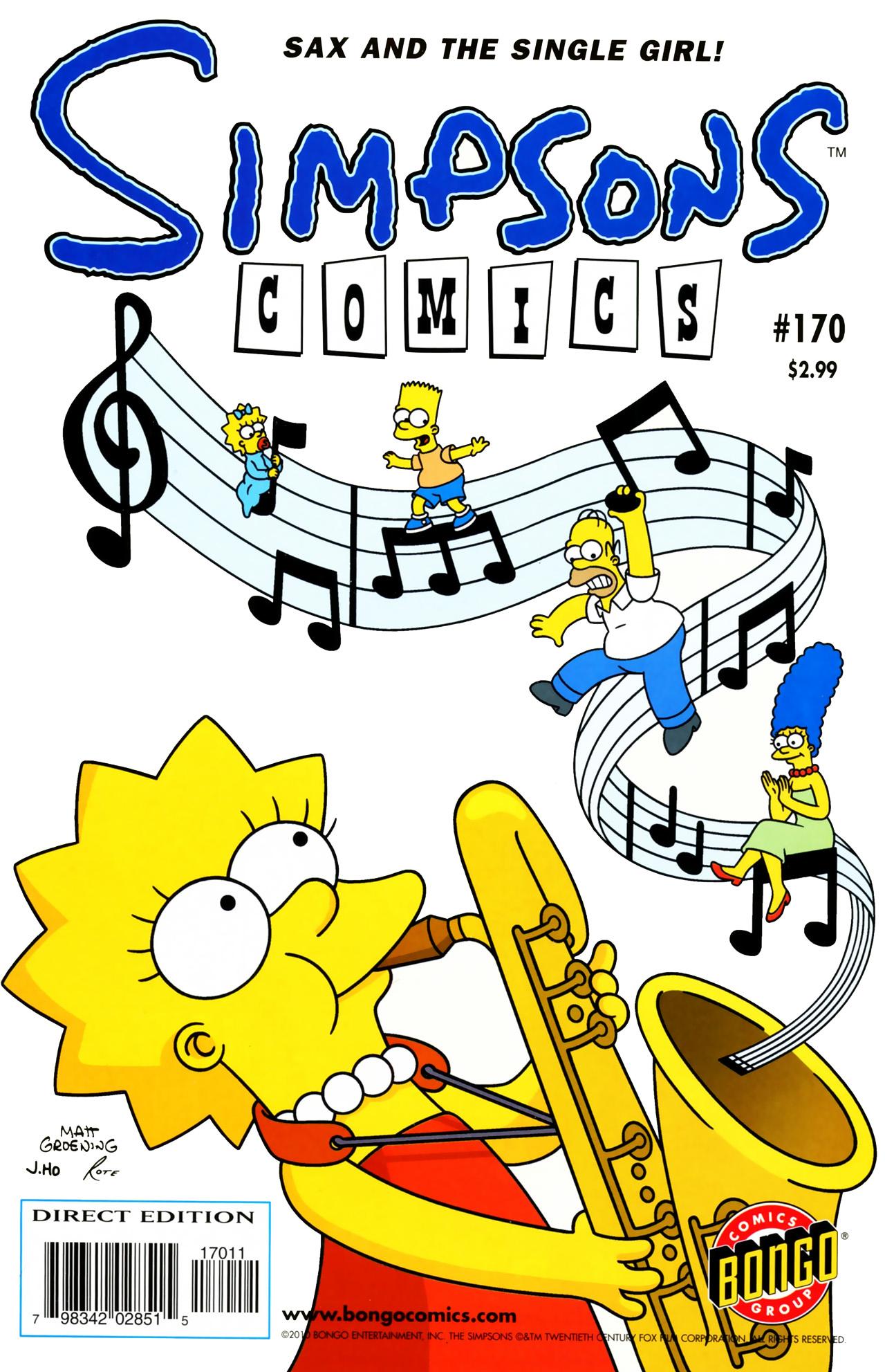 Read online Simpsons Comics comic -  Issue #170 - 1