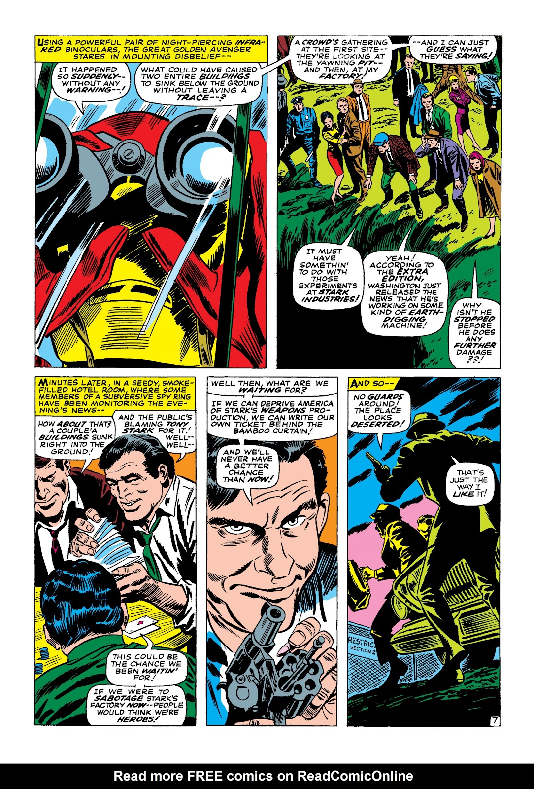 Read online Marvel Masterworks: The Invincible Iron Man comic -  Issue # TPB 4 (Part 1) - 52