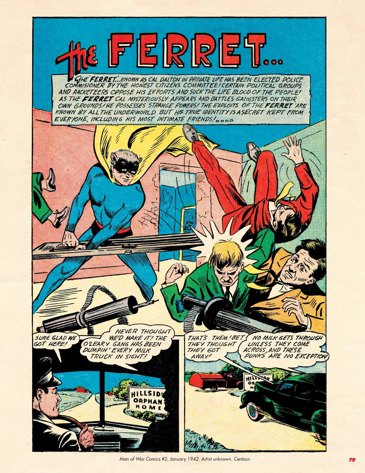 Read online Super Weird Heroes comic -  Issue # TPB 2 (Part 1) - 79
