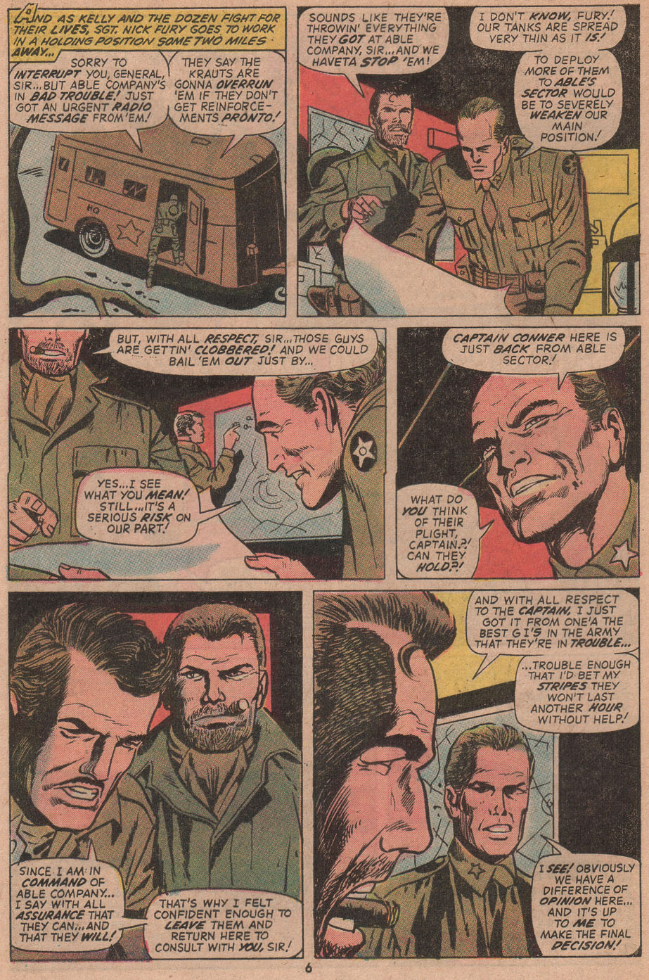 Read online Sgt. Fury comic -  Issue #104 - 8