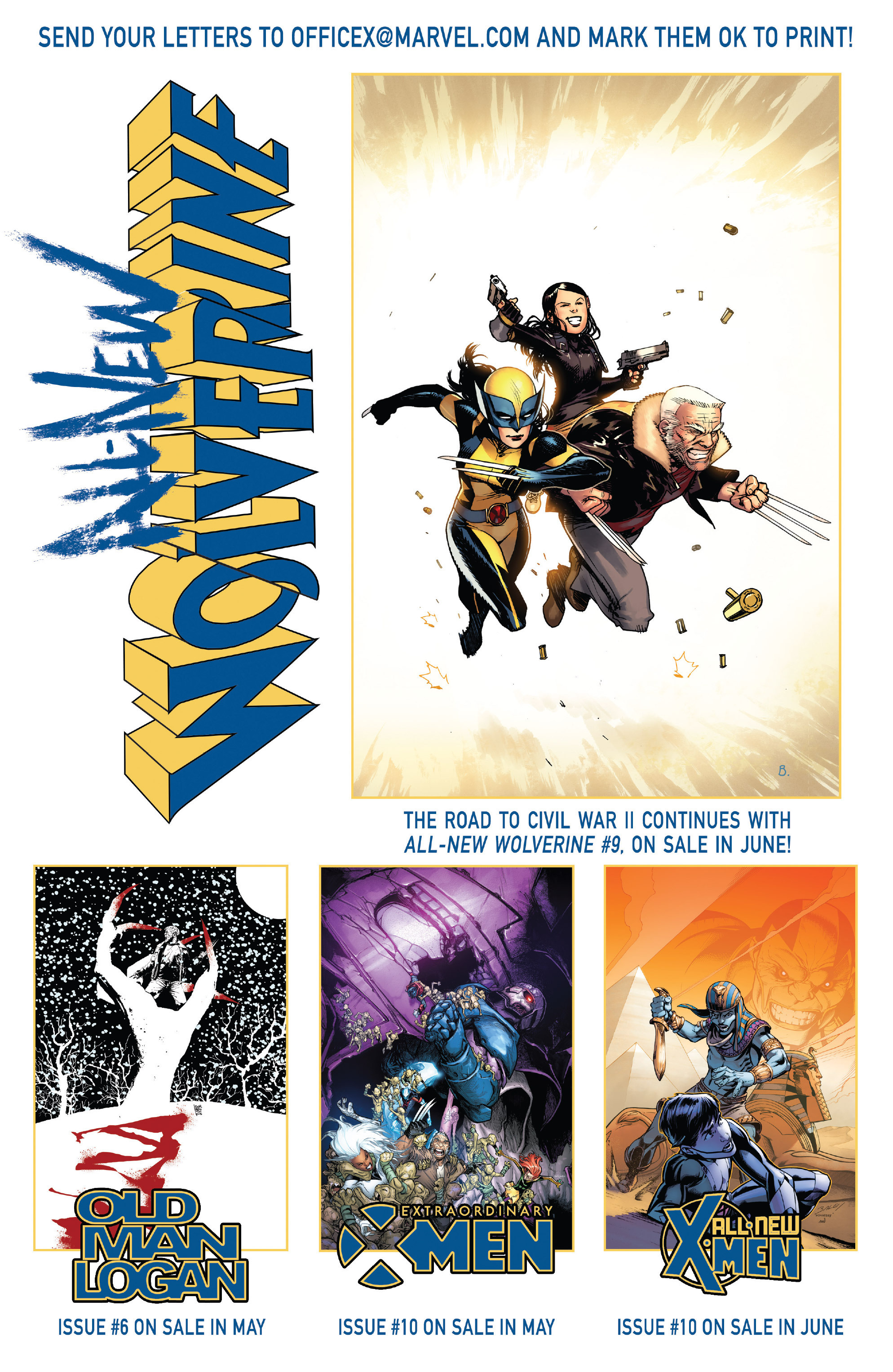 Read online All-New Wolverine (2016) comic -  Issue #8 - 22