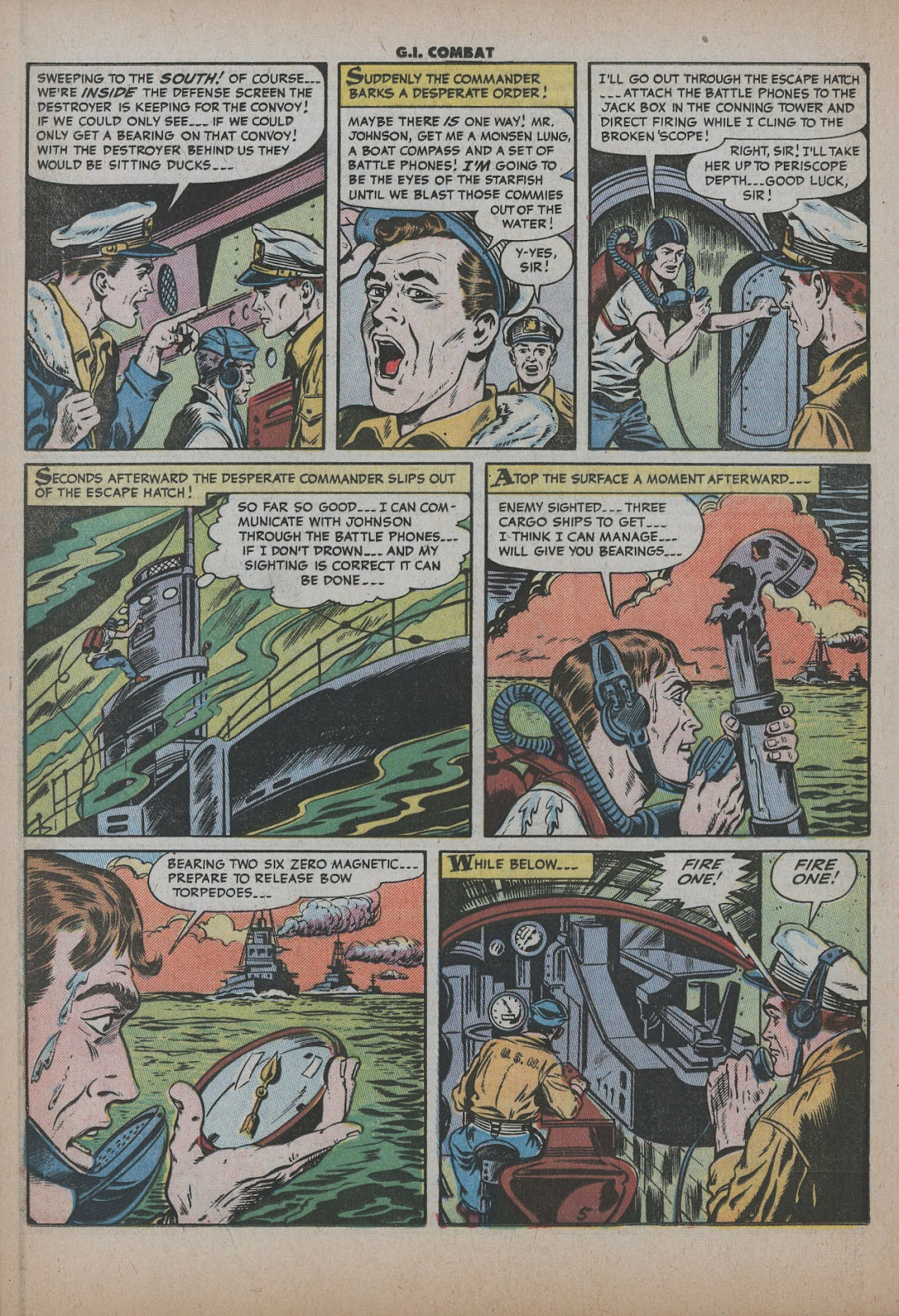 G.I. Combat (1952) issue 26 - Page 16