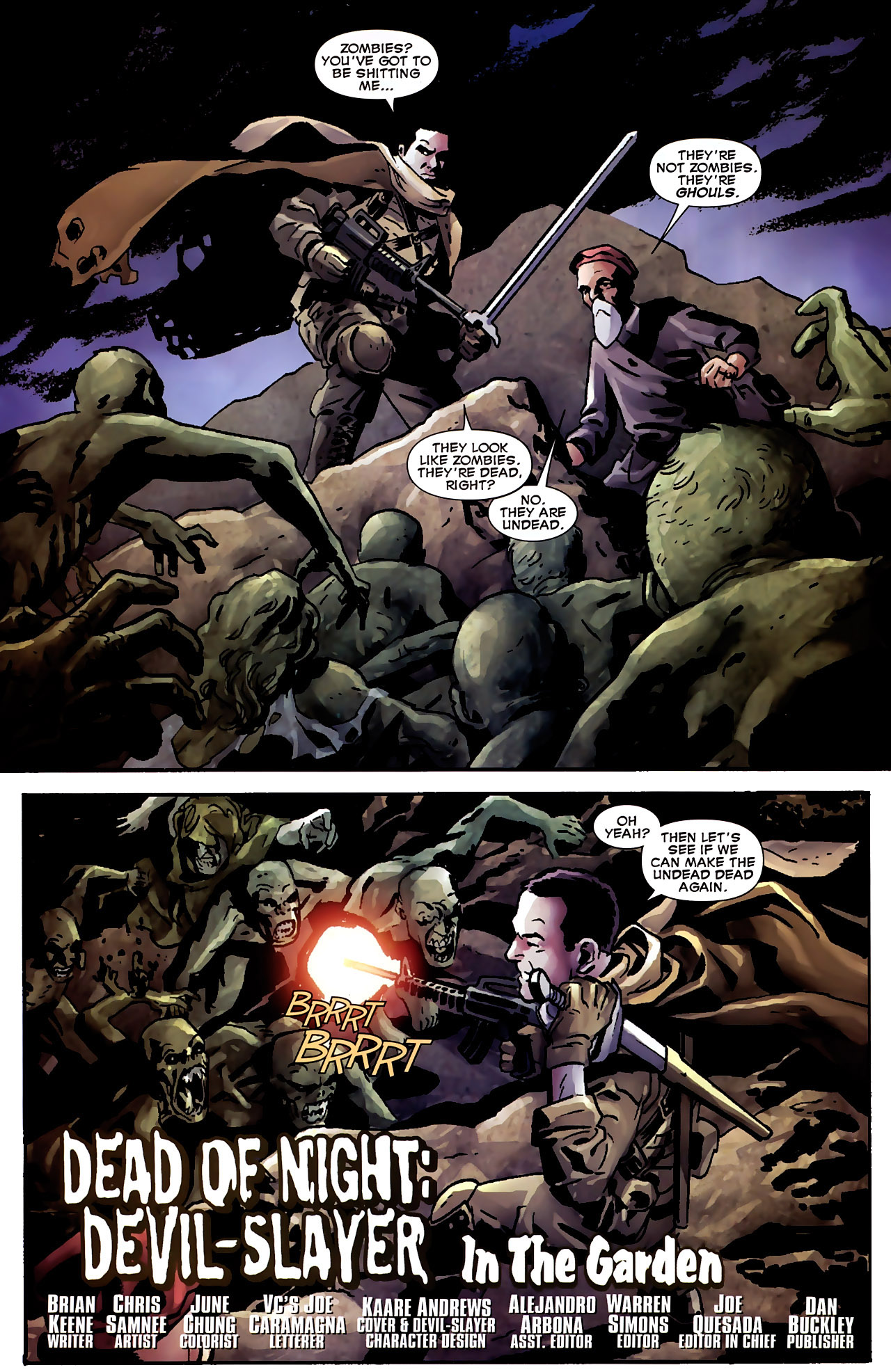 Read online Dead of Night Featuring Devil-Slayer comic -  Issue #3 - 3
