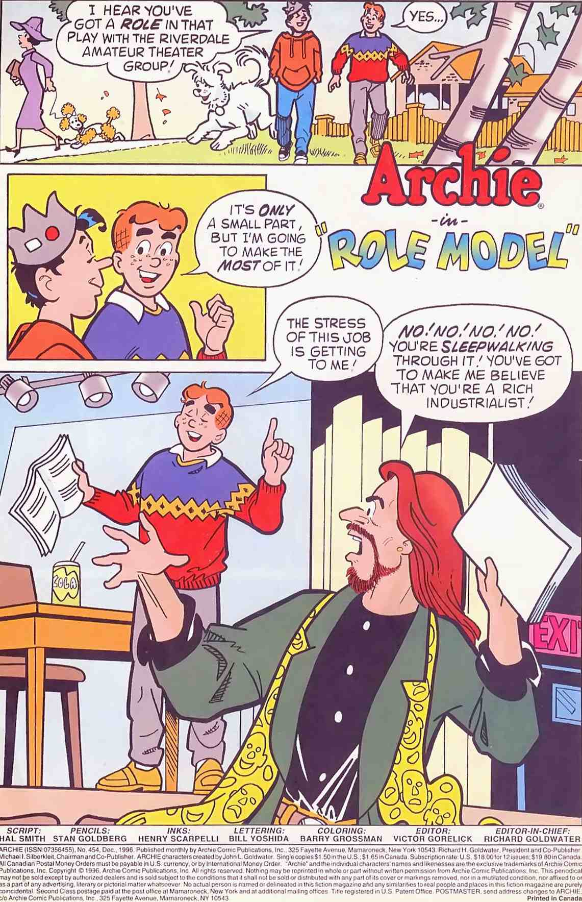 Read online Archie (1960) comic -  Issue #454 - 2