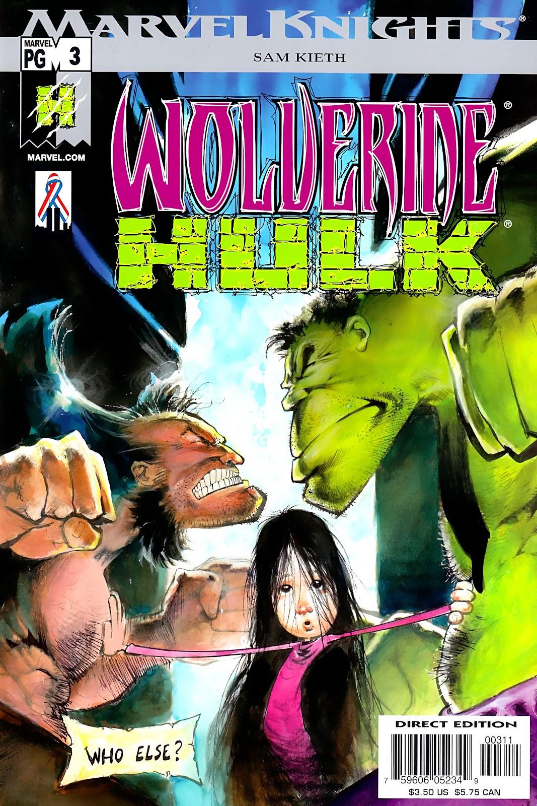 Wolverine/Hulk 3 Page 1