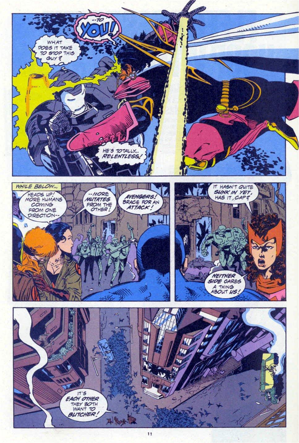 Avengers West Coast (1989) 101 Page 10