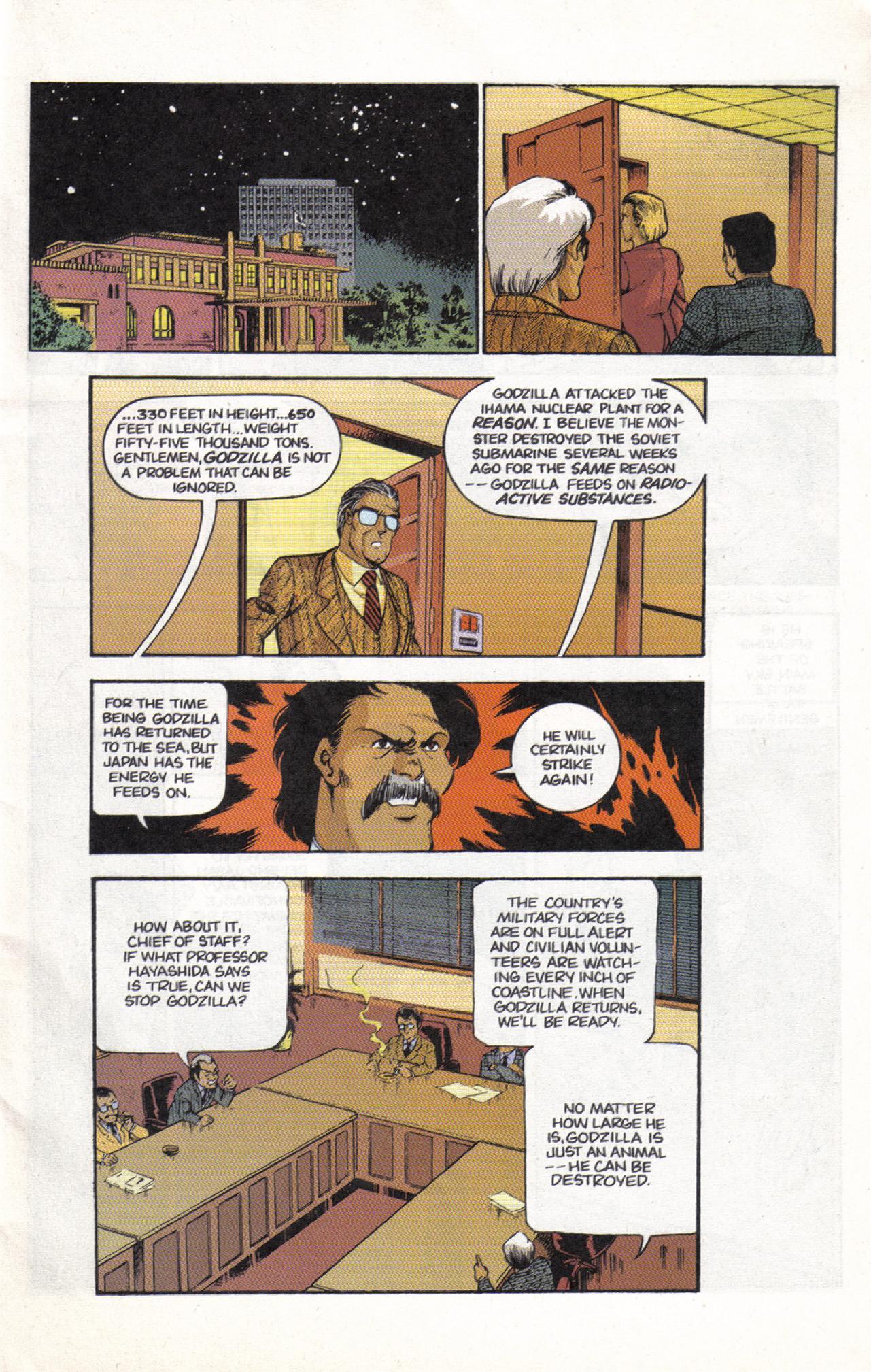 Read online Dark Horse Classics: Terror of Godzilla comic -  Issue #3 - 3