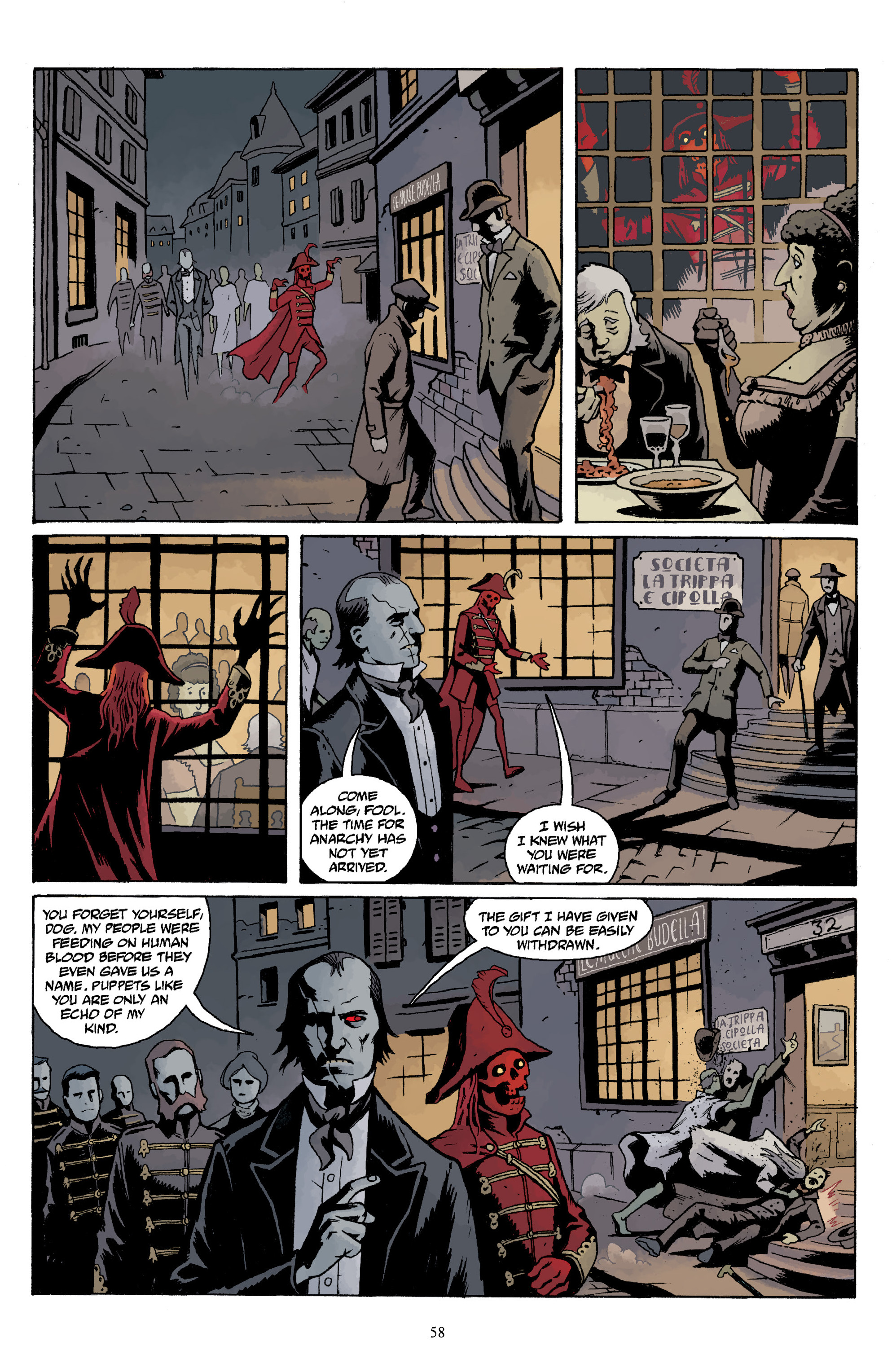 Read online Baltimore Volume 3: A Passing Stranger and Other Stories comic -  Issue # Full - 60